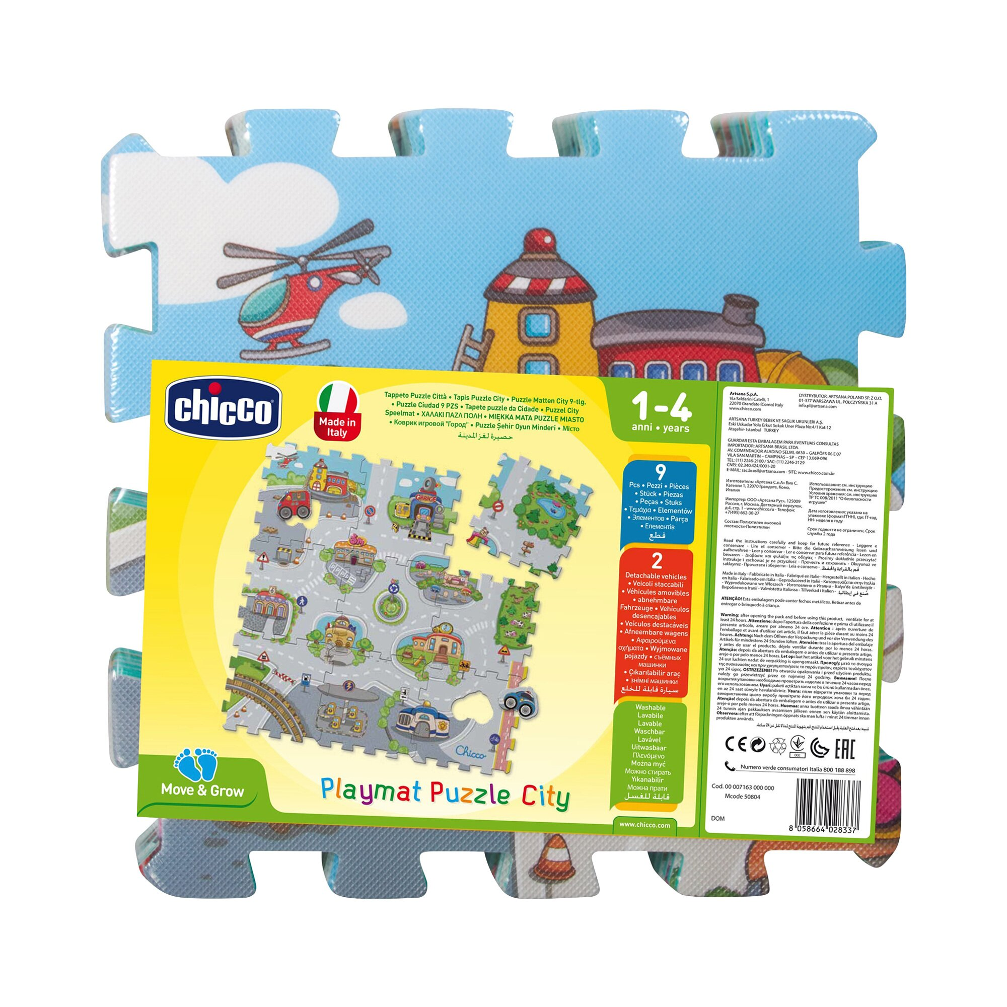 chicco-9tlg-puzzlematte-city