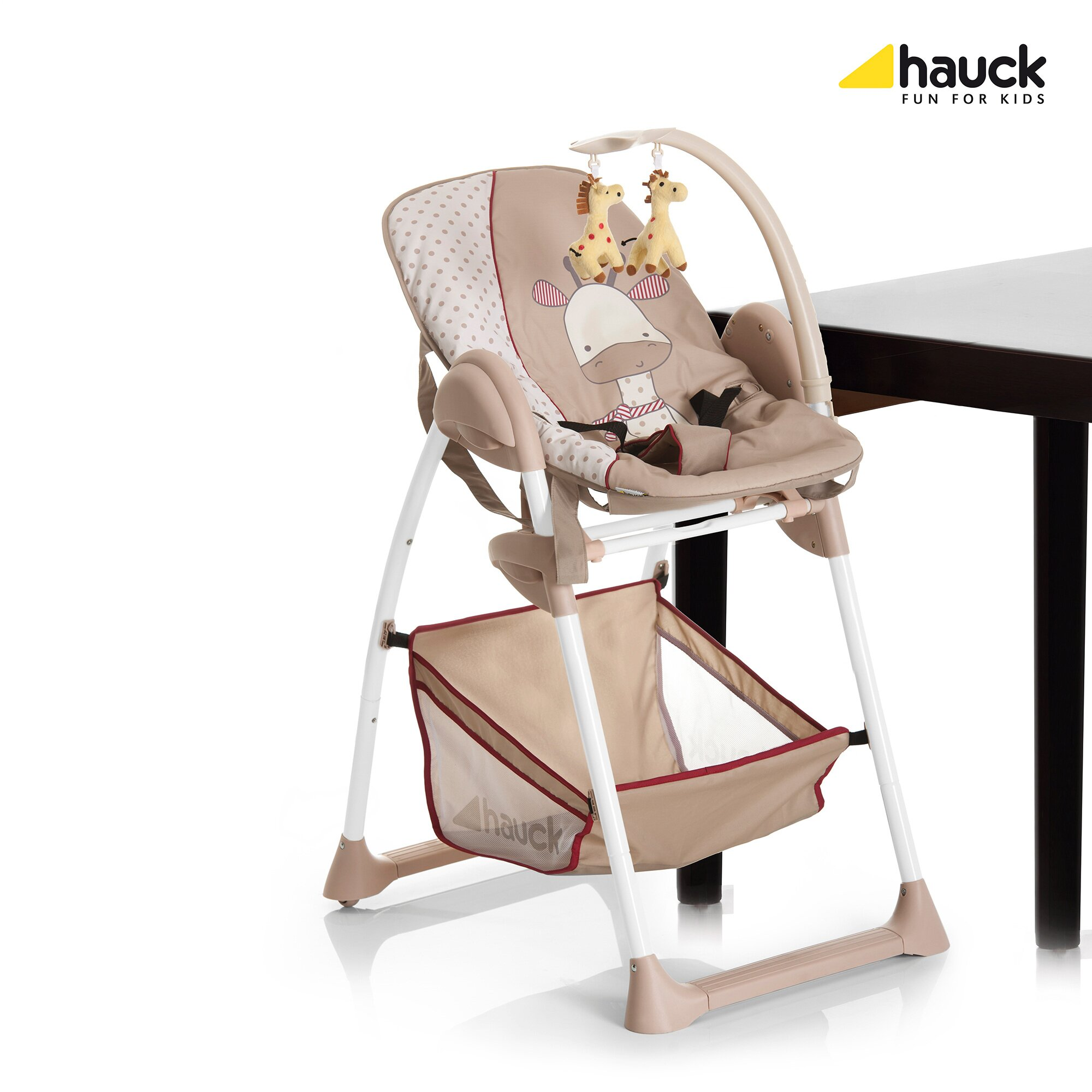 hauck-hochstuhl-sit-n-relax-giraffe-beige