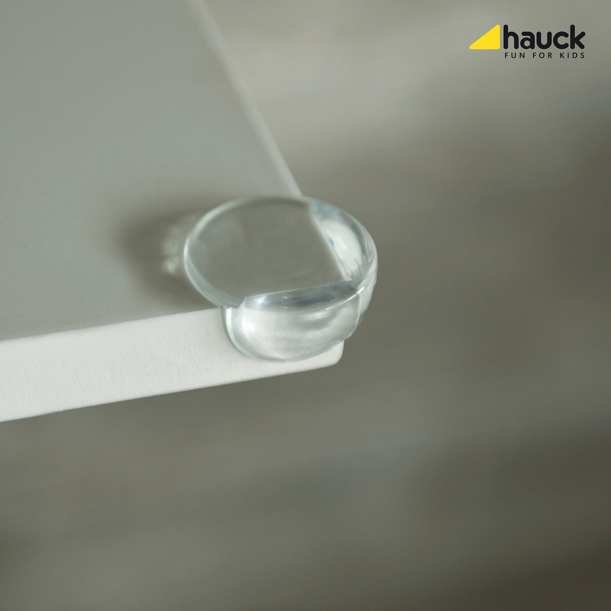 Hauck Eckkantenschutz - Corner Me - 8 Stück transparent