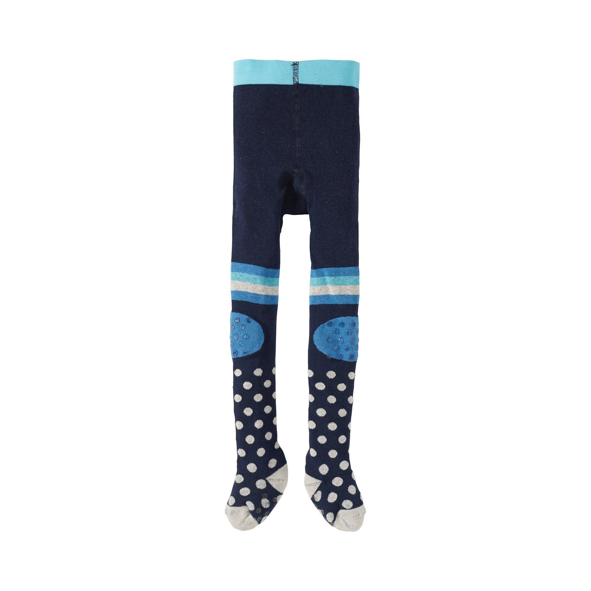 Jacob's Krabbelstrumfhose Punkte blau 62//74//86//98
