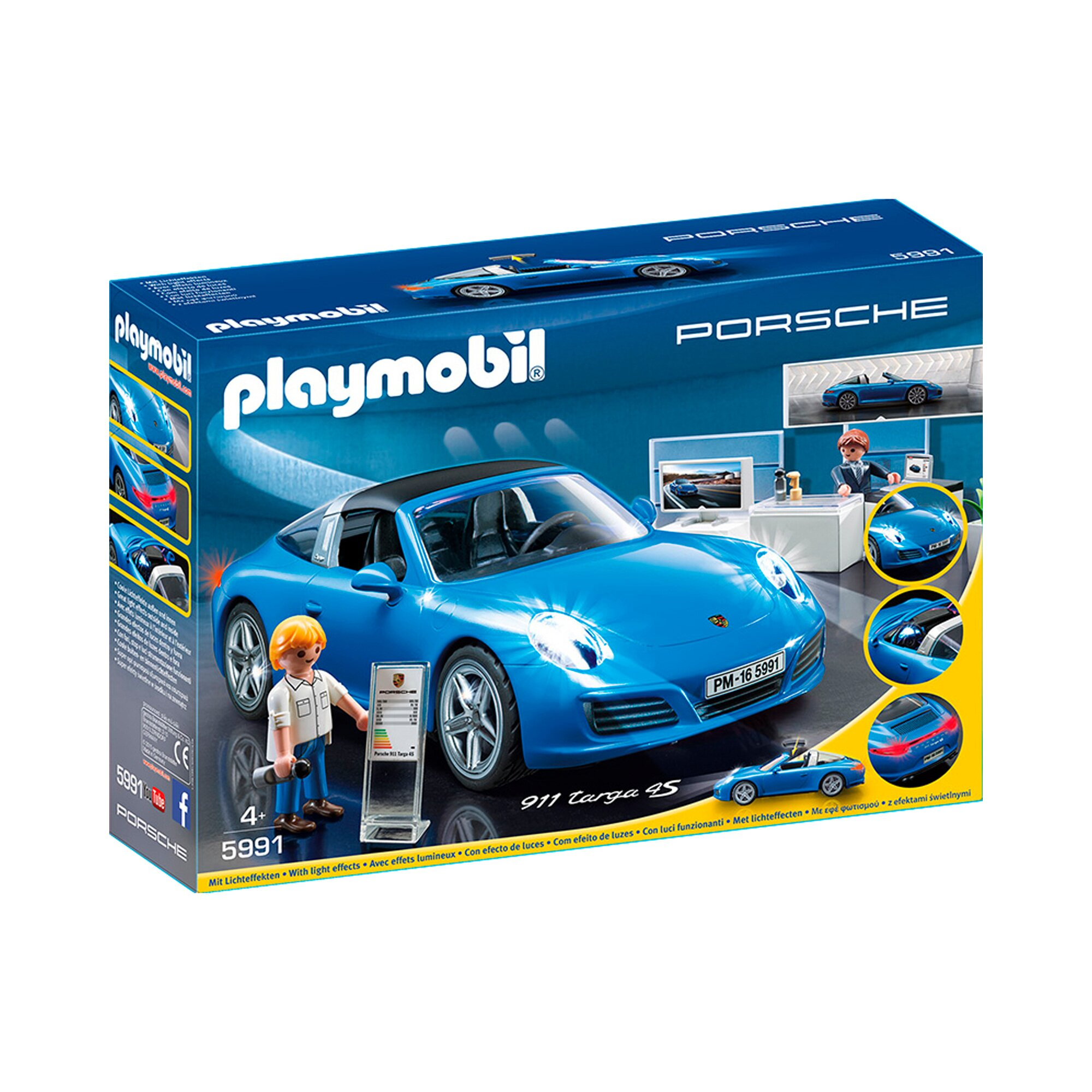 playmobil porsche 911 targa 4s 5991 preisvergleich. Black Bedroom Furniture Sets. Home Design Ideas