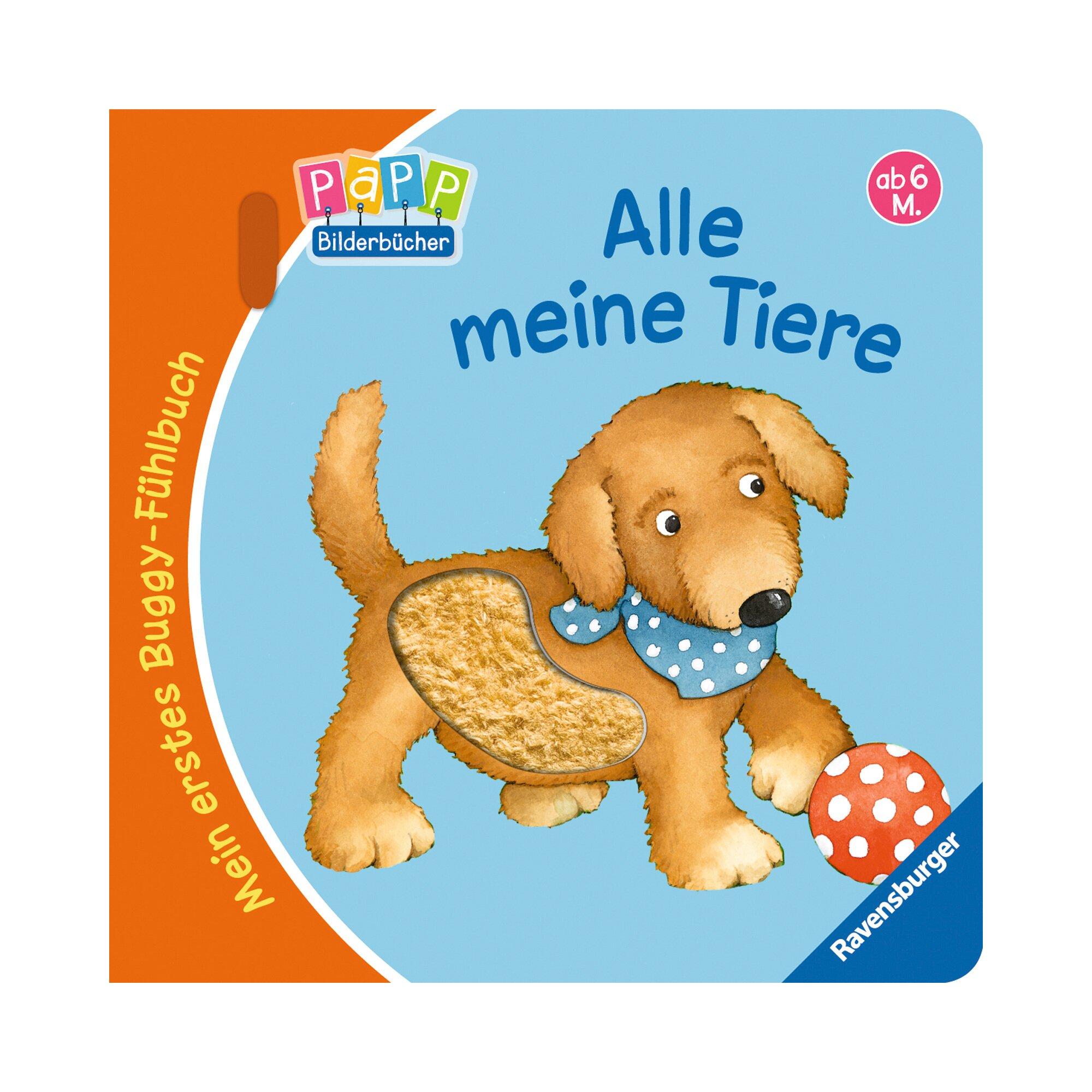 Ravensburger Mein erstes Buggy-Fühlbuch - Alle meine Tiere