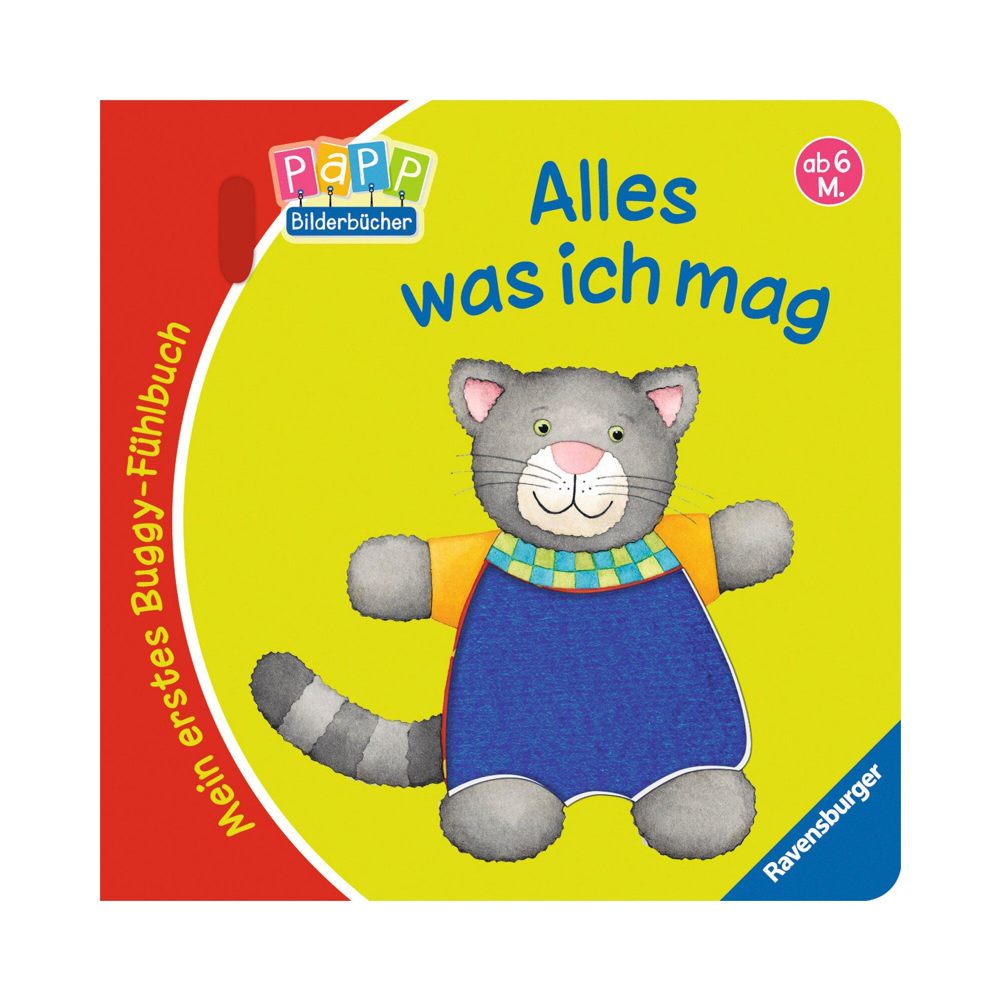 Ravensburger Mein erstes Buggy-Fühlbuch - Alles was ich mag