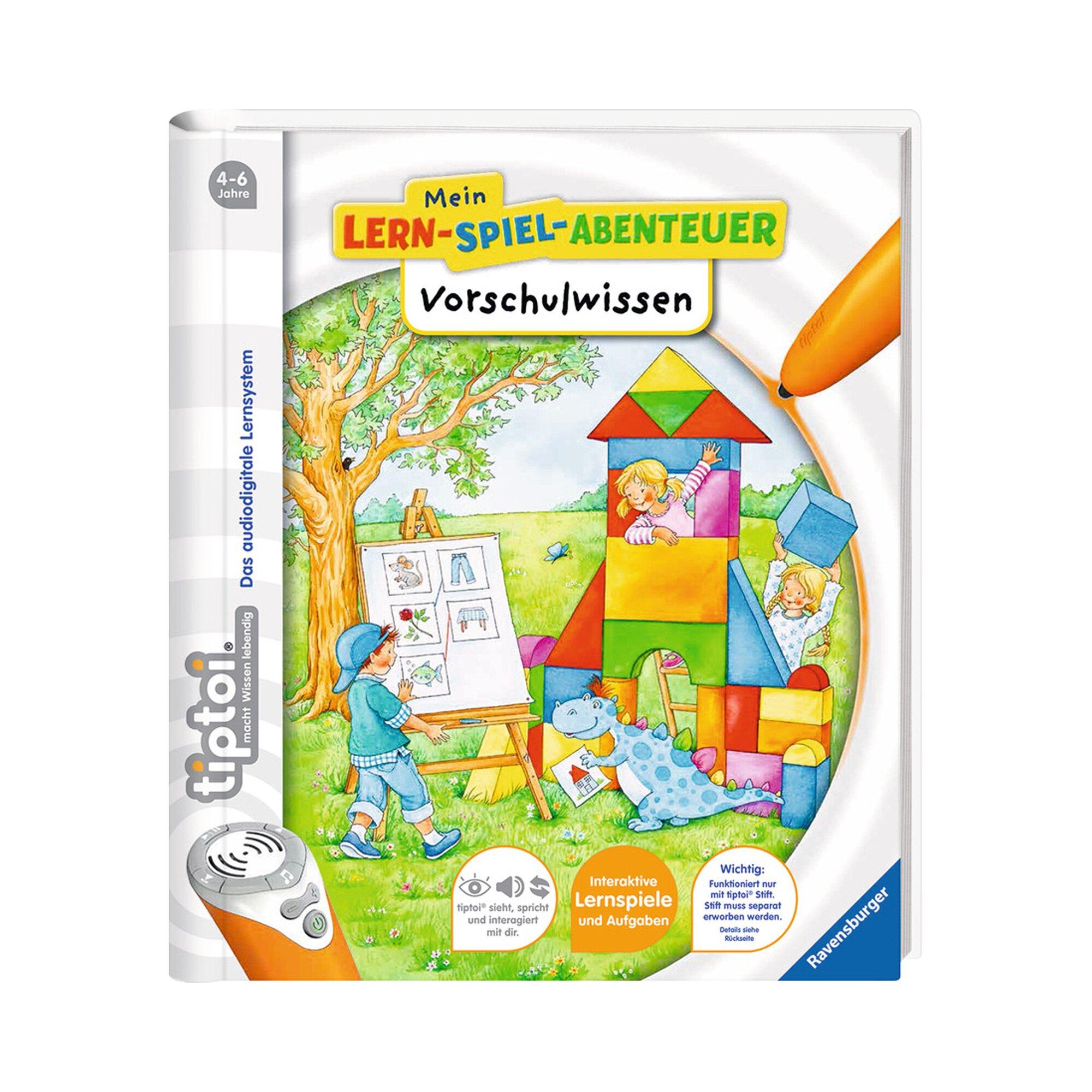 Tiptoi Mein Lern-Spiel-Abenteuer: Vorschulwissen