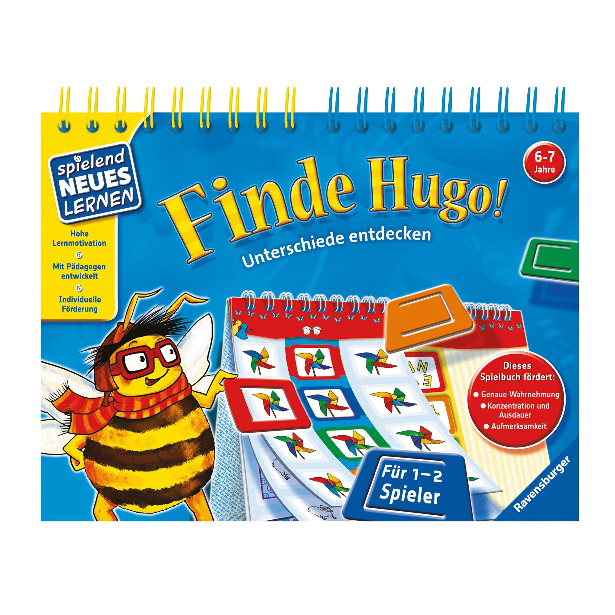 Ravensburger Spielbuch - Finde Hugo! Unterschiede entdecken