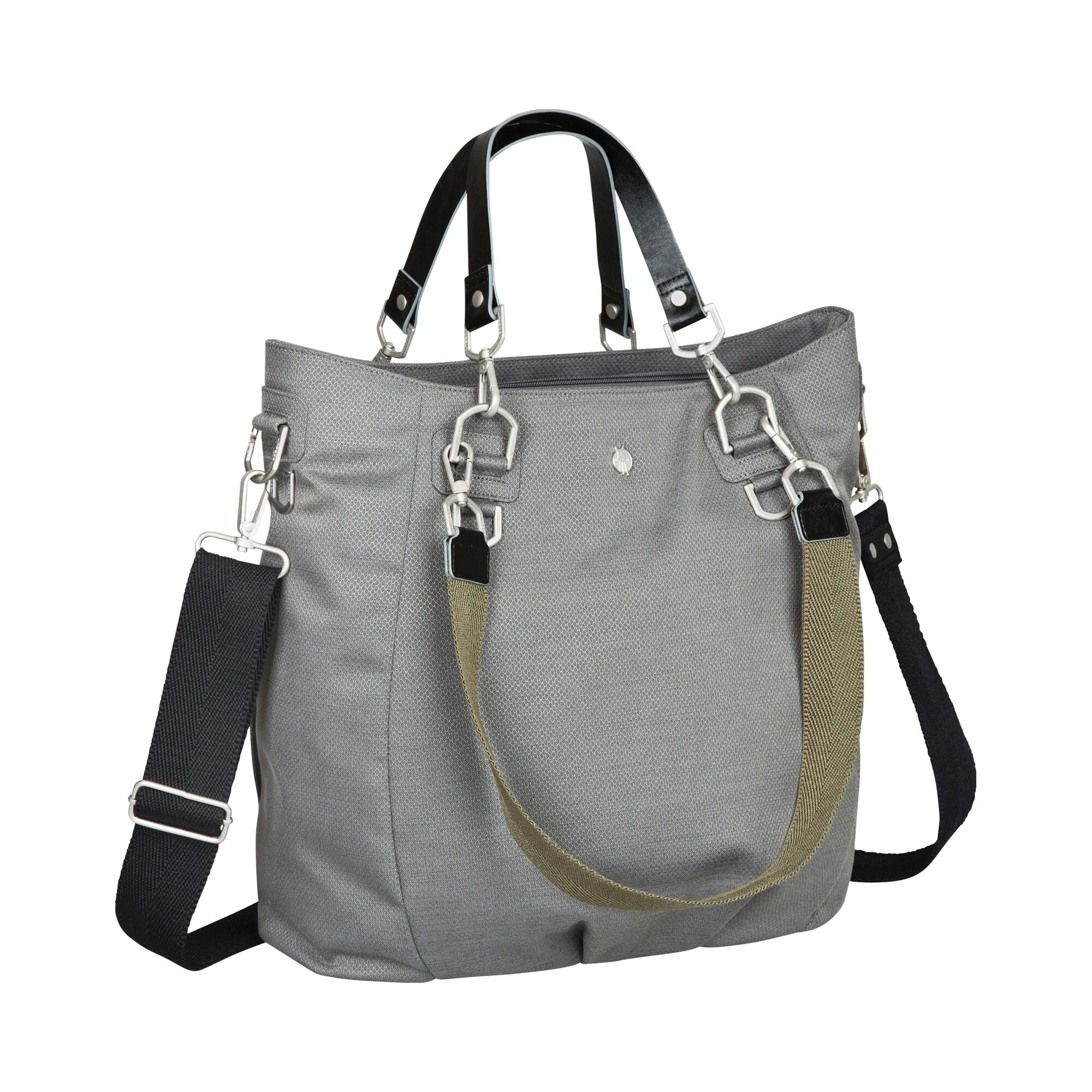 Green Label Wickeltasche Mix'n Match Bag grau