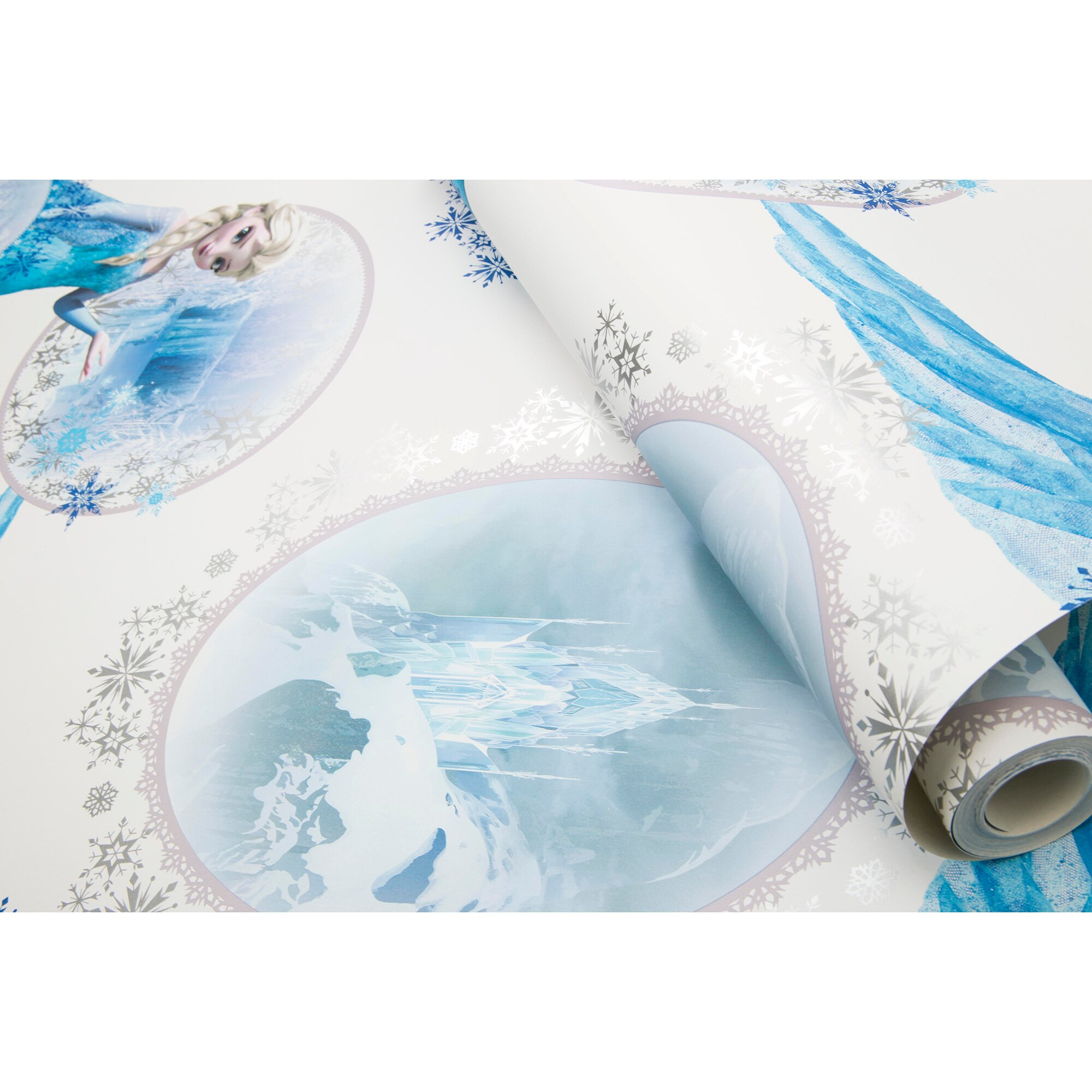 Disney Frozen Kinderzimmertapete Disney Frozen DIE EISKÖNIGIN Scene (10,05 x 0,53 m) mehrfarbig