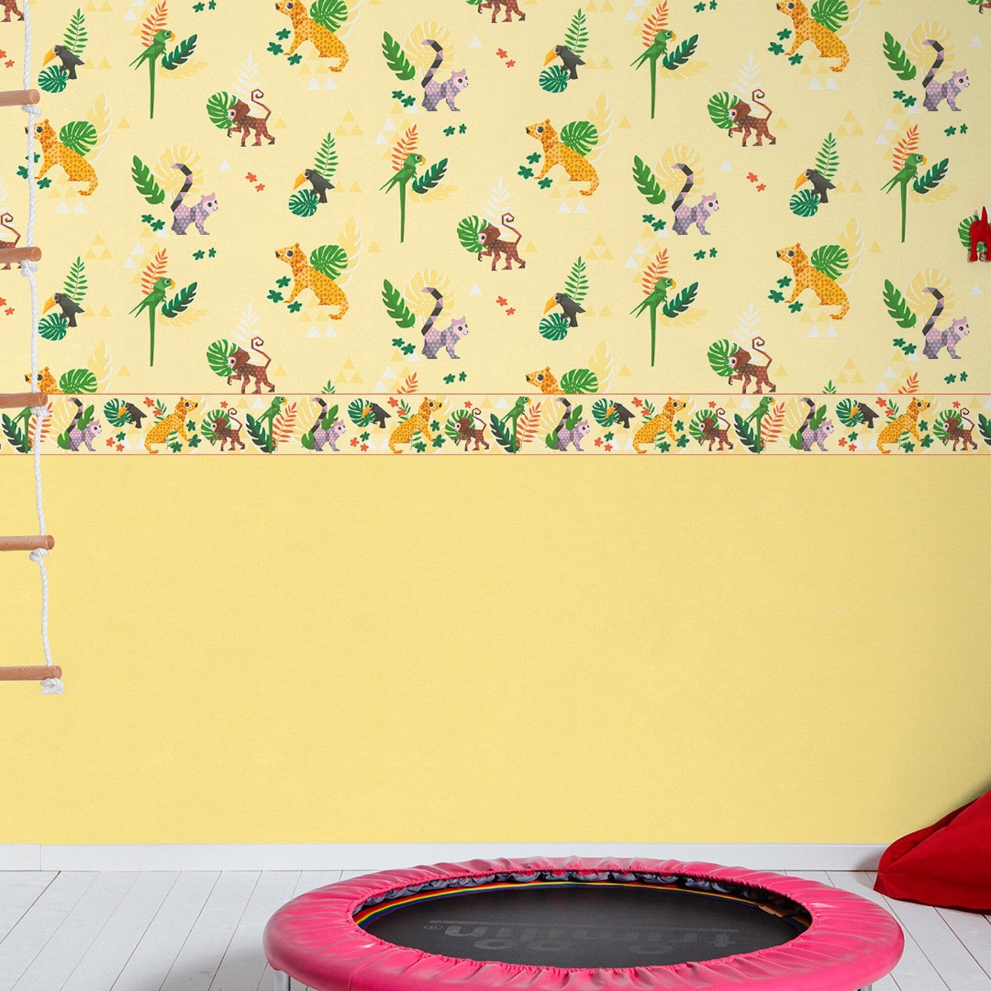 matex-kinderzimmertapete-uni-mehrfarbig, 7.99 EUR @ babywalz-de