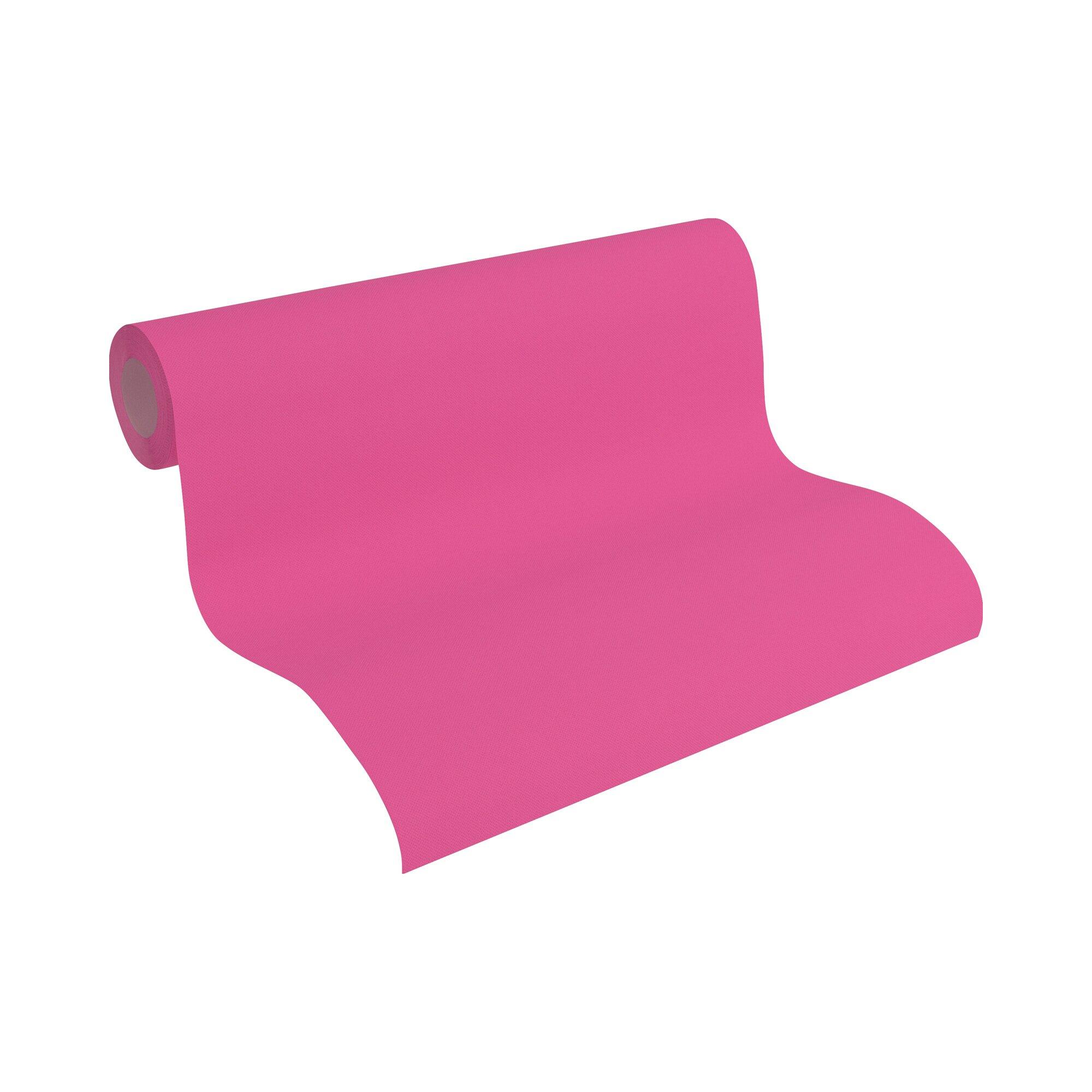 Matex Kinderzimmertapete UNI pink