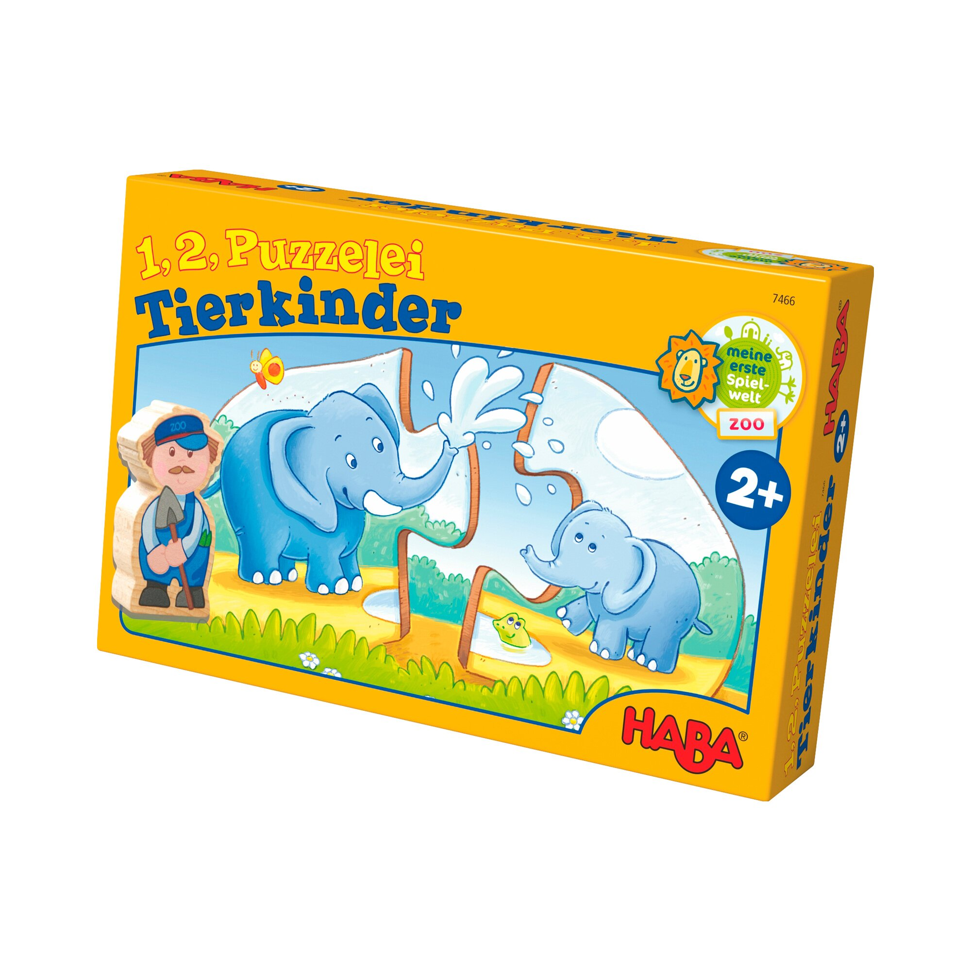 7466 1 2 Puzzelei - Tierkinder