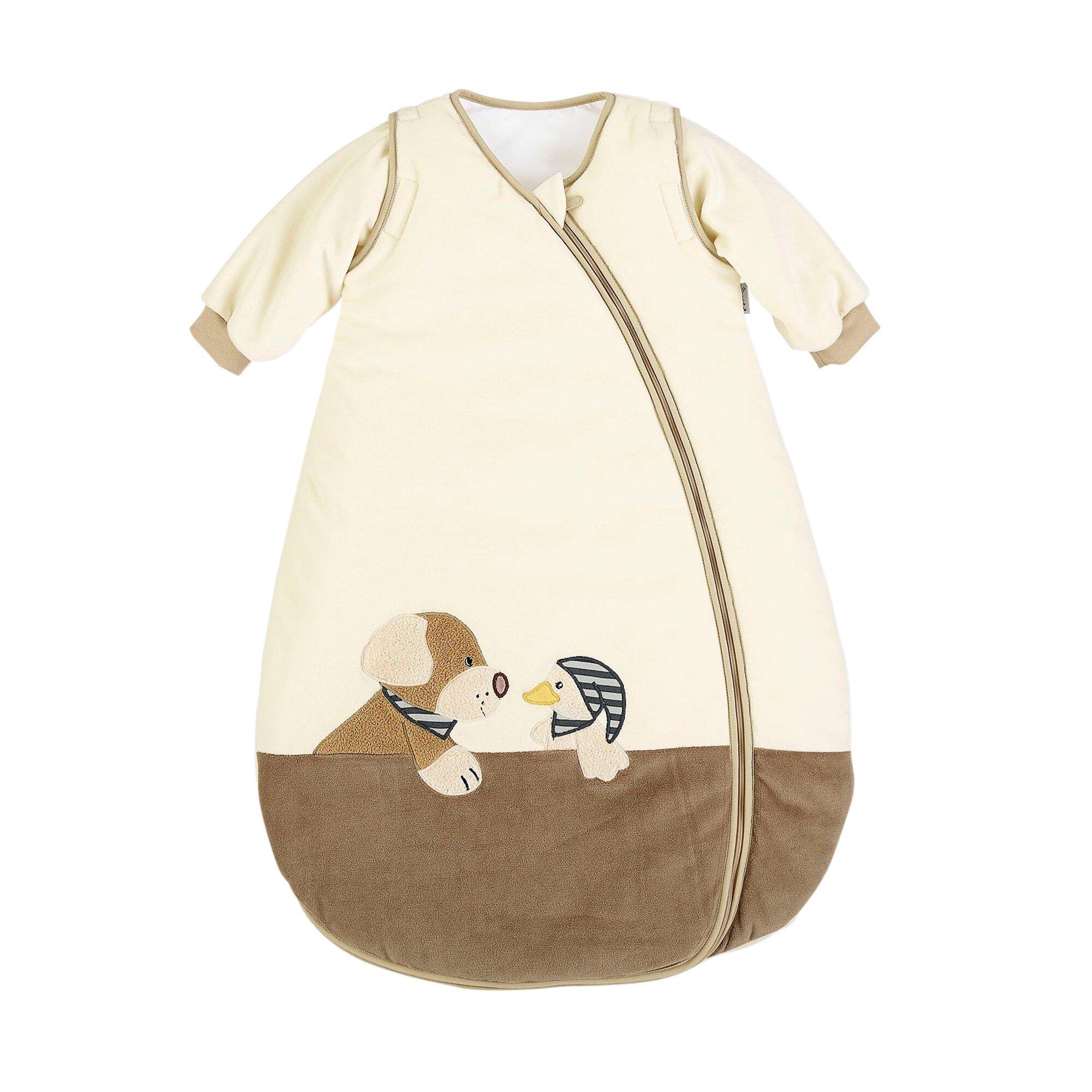 Sterntaler Ganzjahresschlafsack Hund Hanno mit abnehmbaren Ärmeln