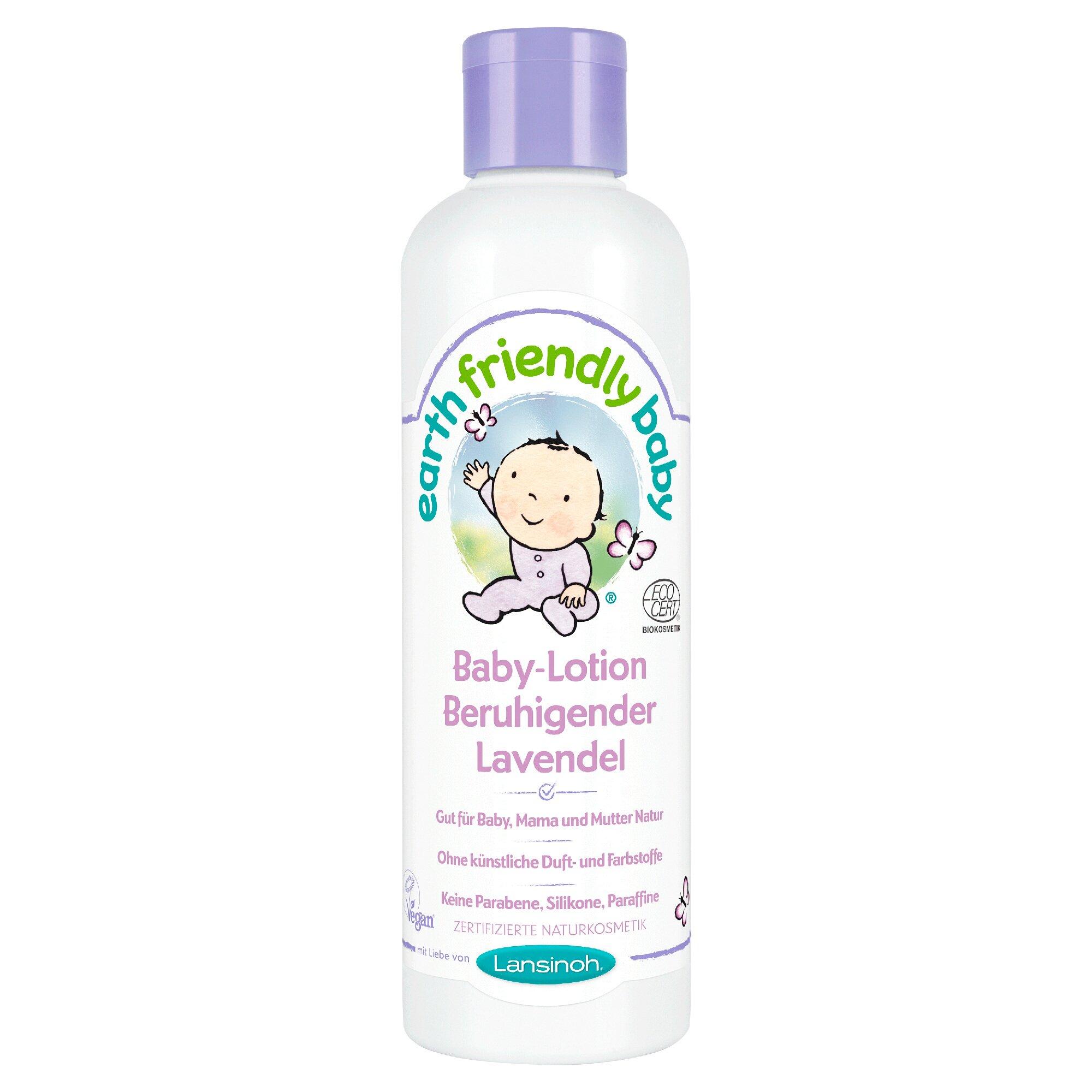 Earth Friendly Baby Körperlotion Beruhigender Lavendel 250 ml