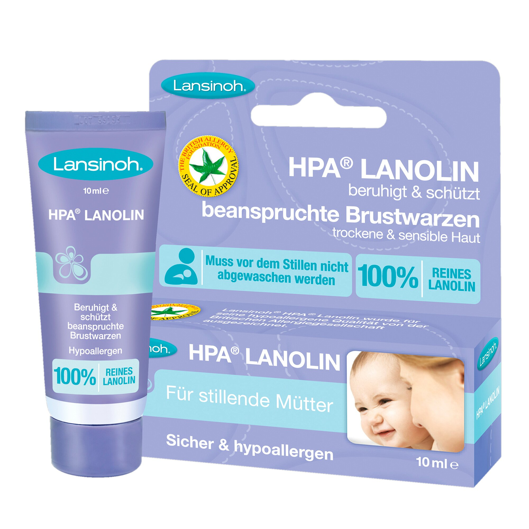 Lansinoh Brustwarzencreme HPA® Lanolin 10 ml