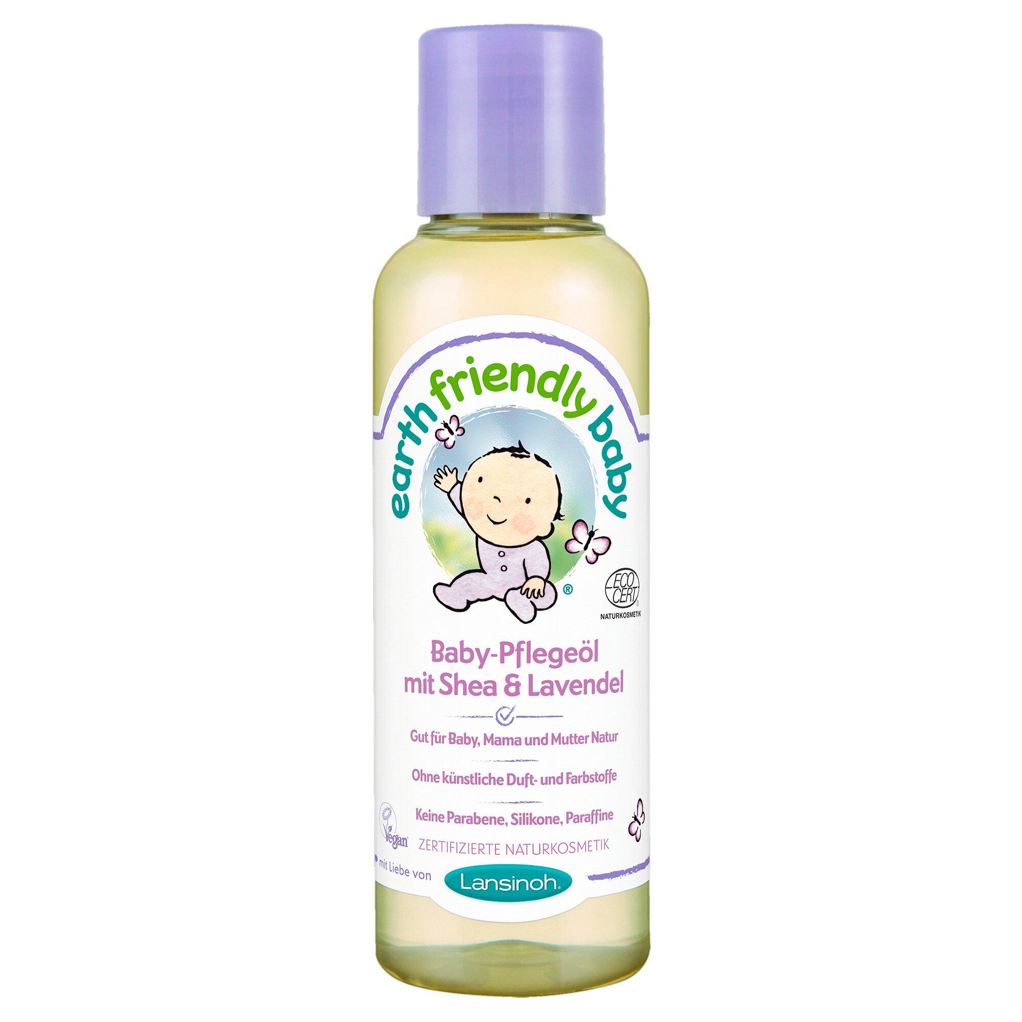 Earth Friendly Baby Pflegeöl mit Shea & Lavendel 125 ml