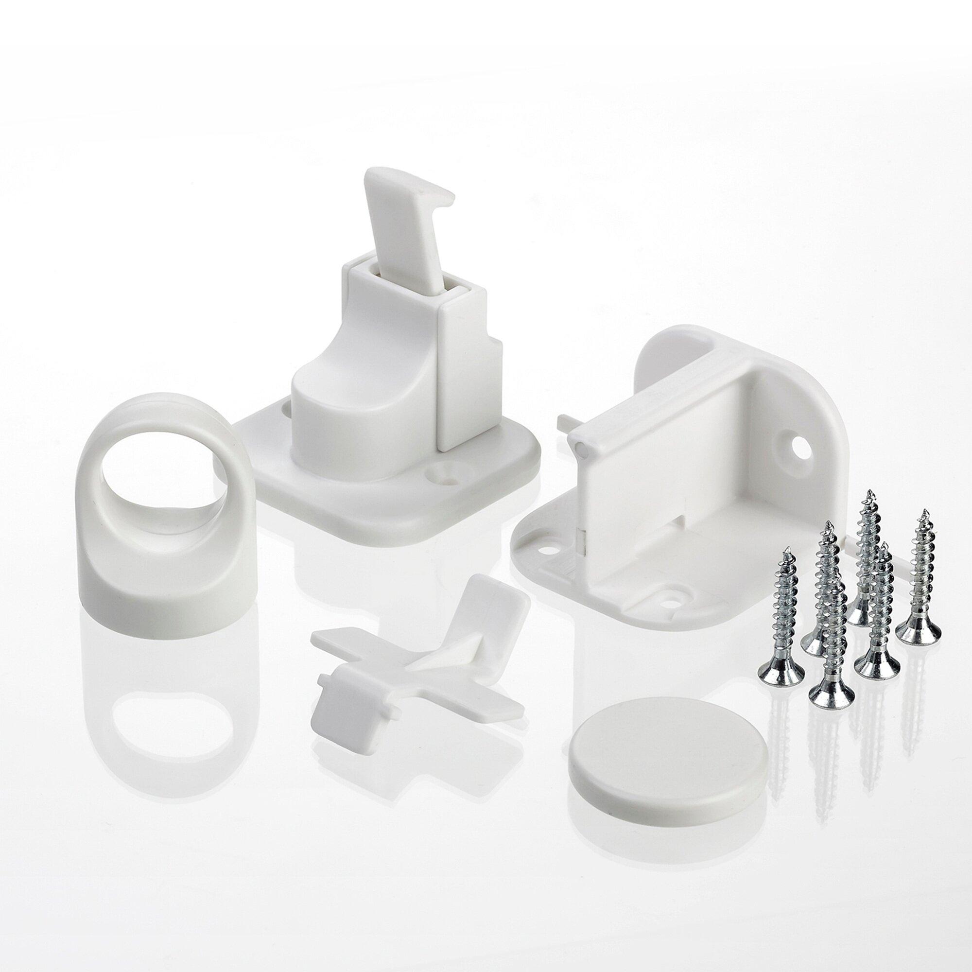 Reer 2er-Pack Schrank- und Schubladensicherung Magnet