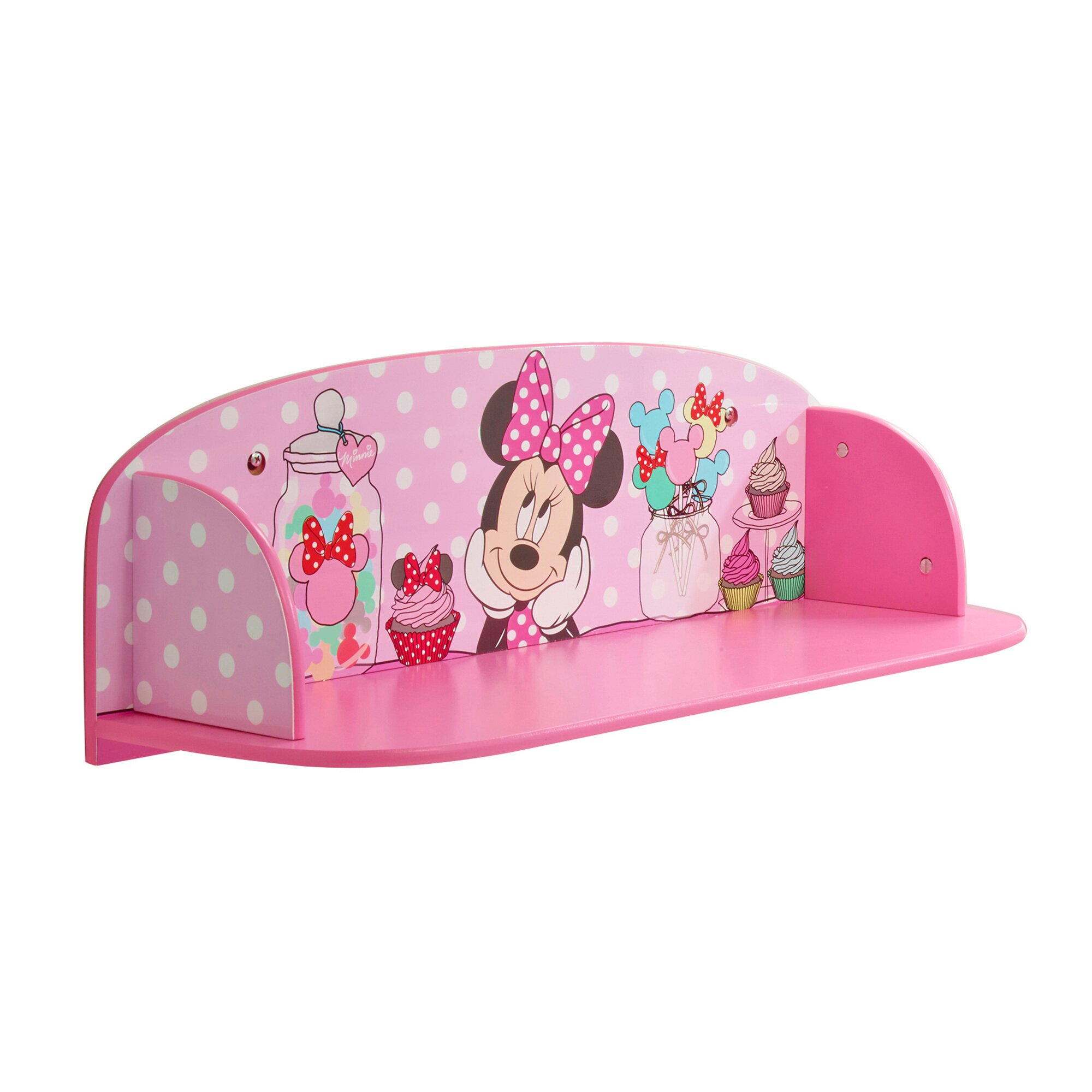 Minnie Mouse Wandregal