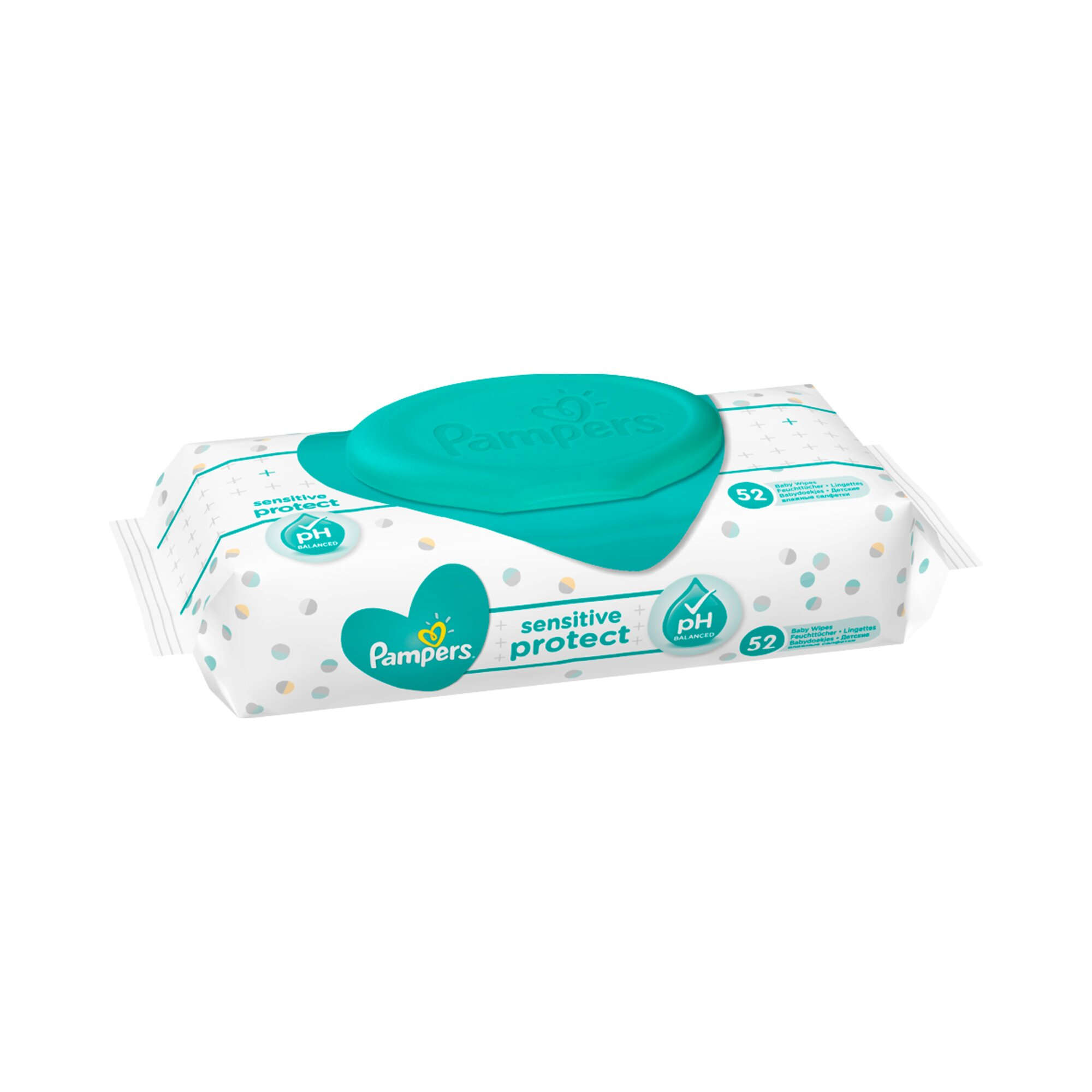 Pampers Feuchttücher Sensitive, 52 St.