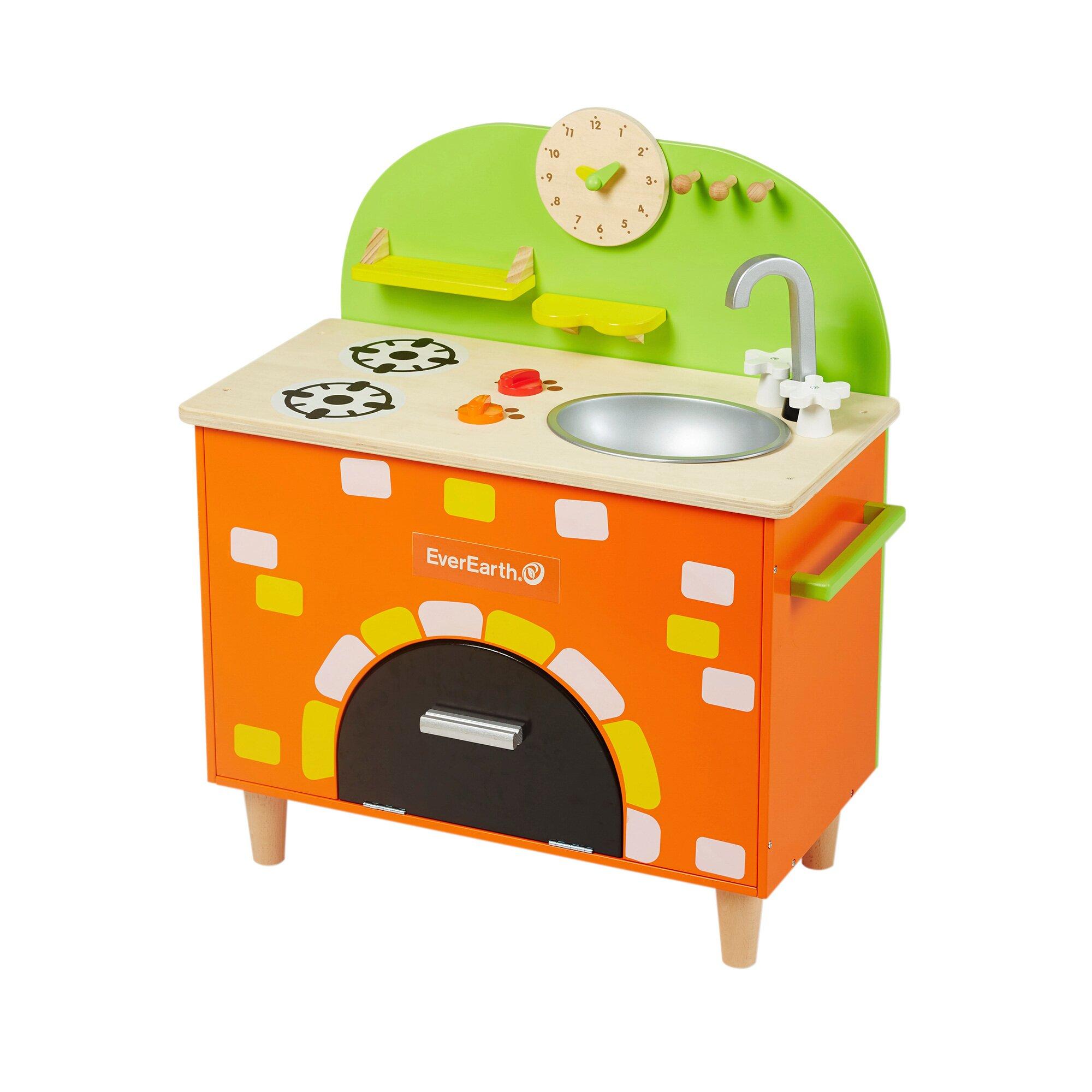 Everearth Kinderküche aus Holz