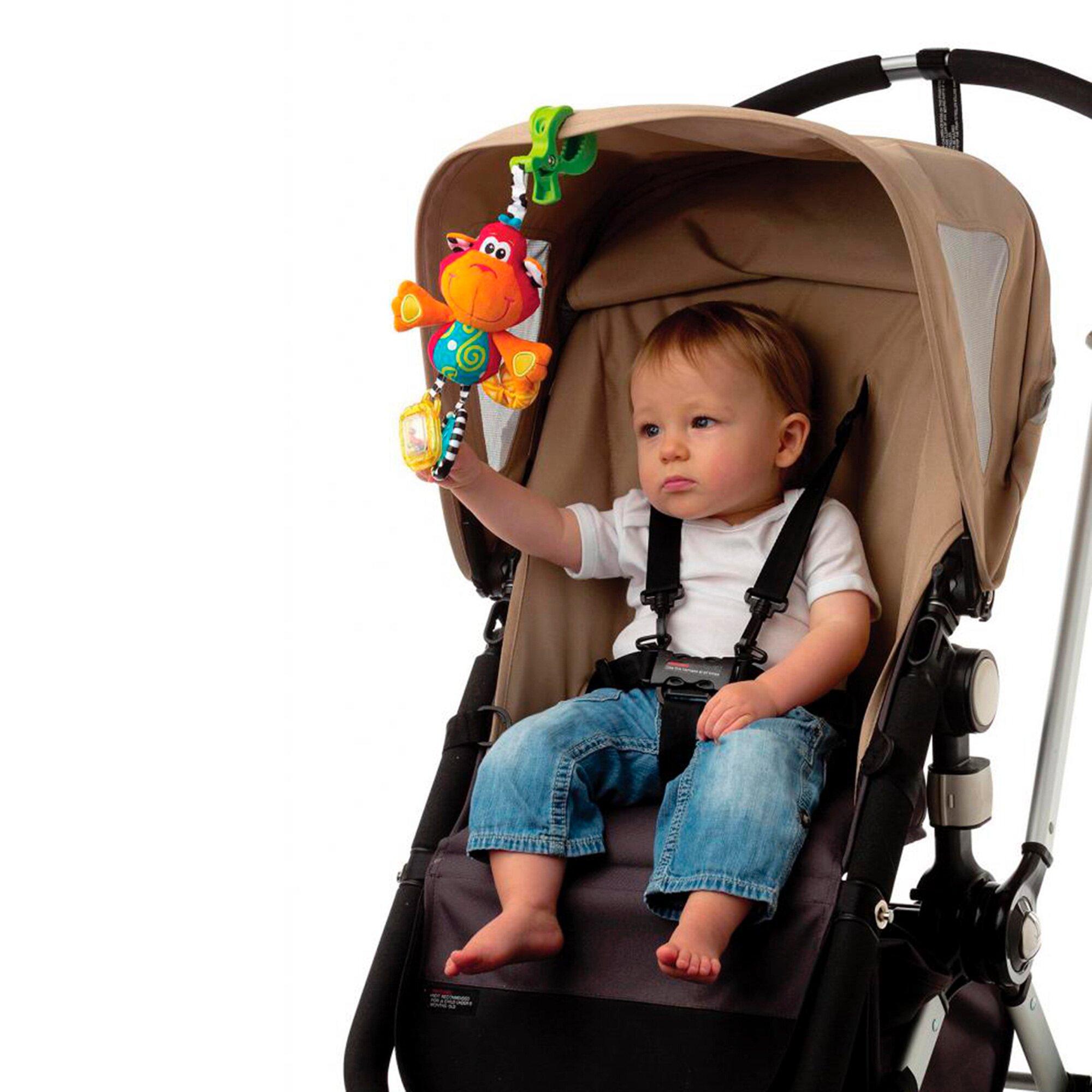 playgro-kinderwagenanhanger-affe-mehrfarbig