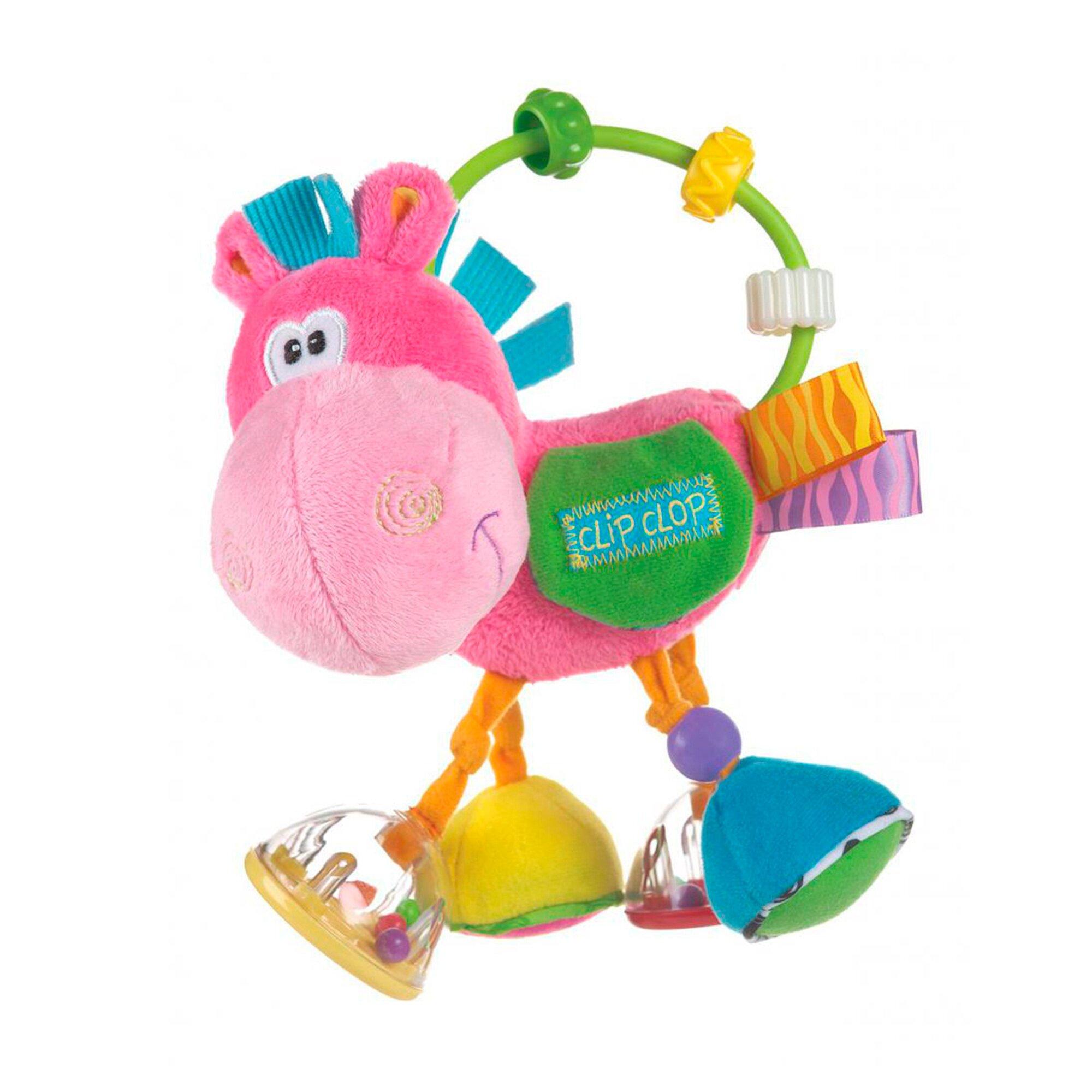 Playgro Rassel Pferd Klipp Klapp Toy Box