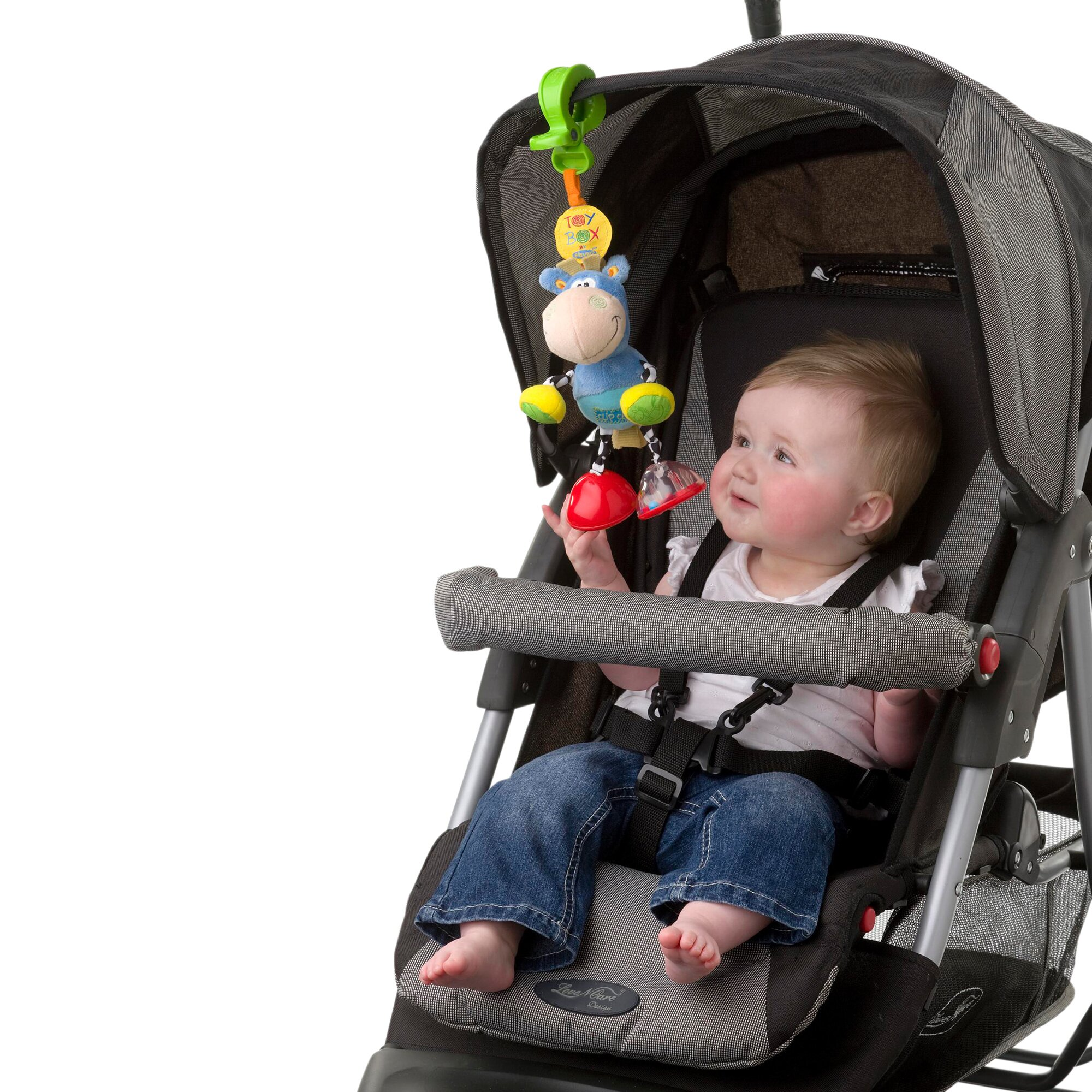 playgro-klipp-klapp-pferd-fur-kinderwagen-mehrfarbig, 11.99 EUR @ babywalz-de