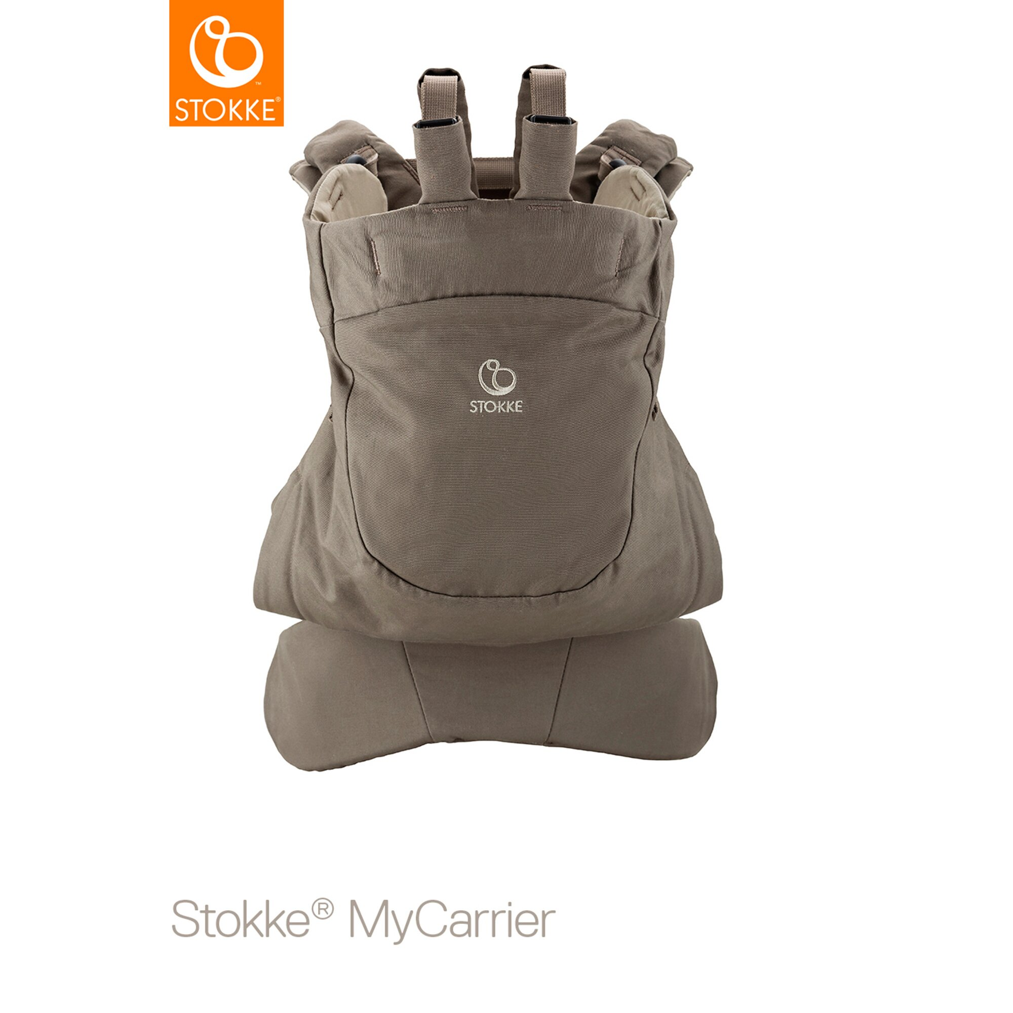 mycarrier-babytrage-frontback-braun, 154.99 EUR @ babywalz-de