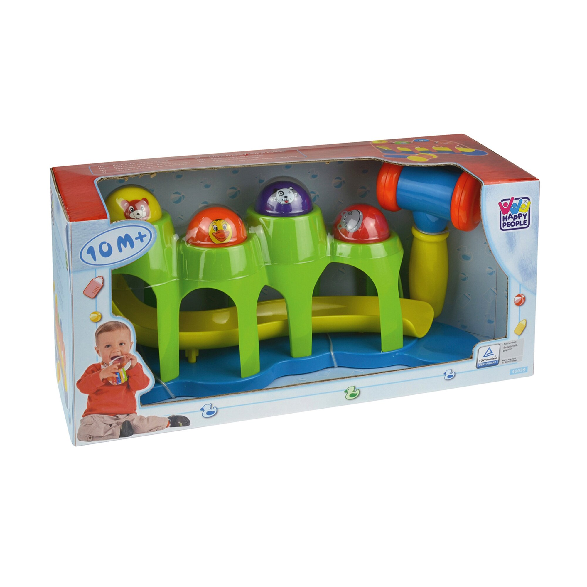 happy-people-kugelbahn-hammerbank, 11.99 EUR @ babywalz-de