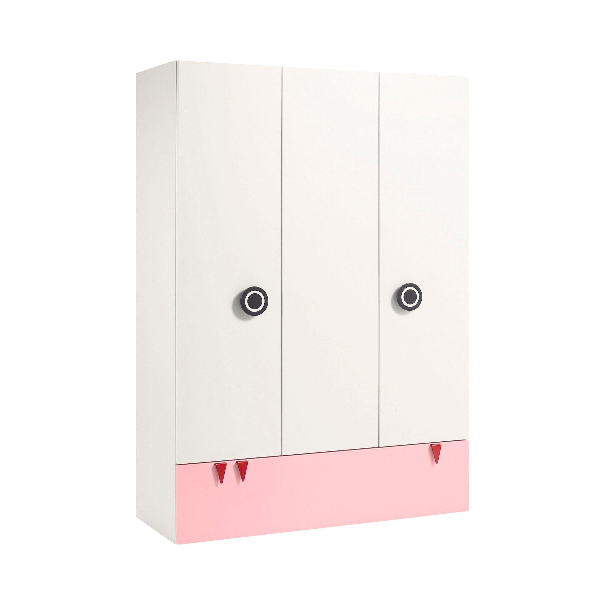 Now! Minimo Kleiderschrank MINIMO (3 Türen, 1 Schublade)