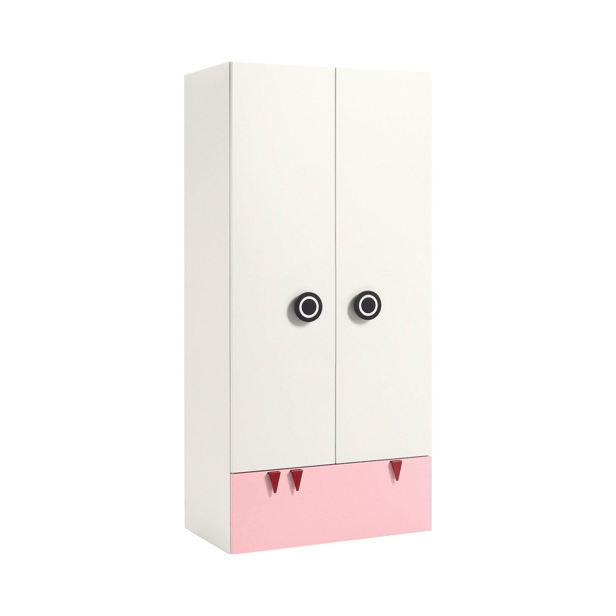 Now! Minimo Kleiderschrank MINIMO (2 Türen, 1 Schublade)