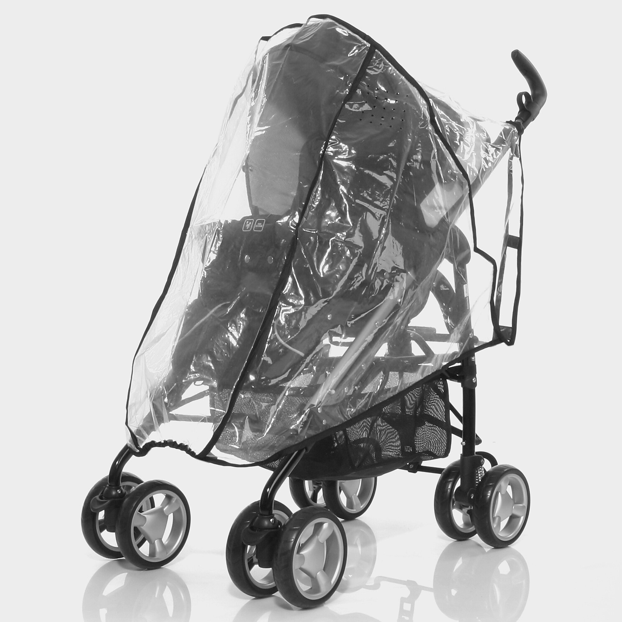 Abc Design Regenschutz für Moji,Okini, Mint, Takeoff, Avito, Moving transparent