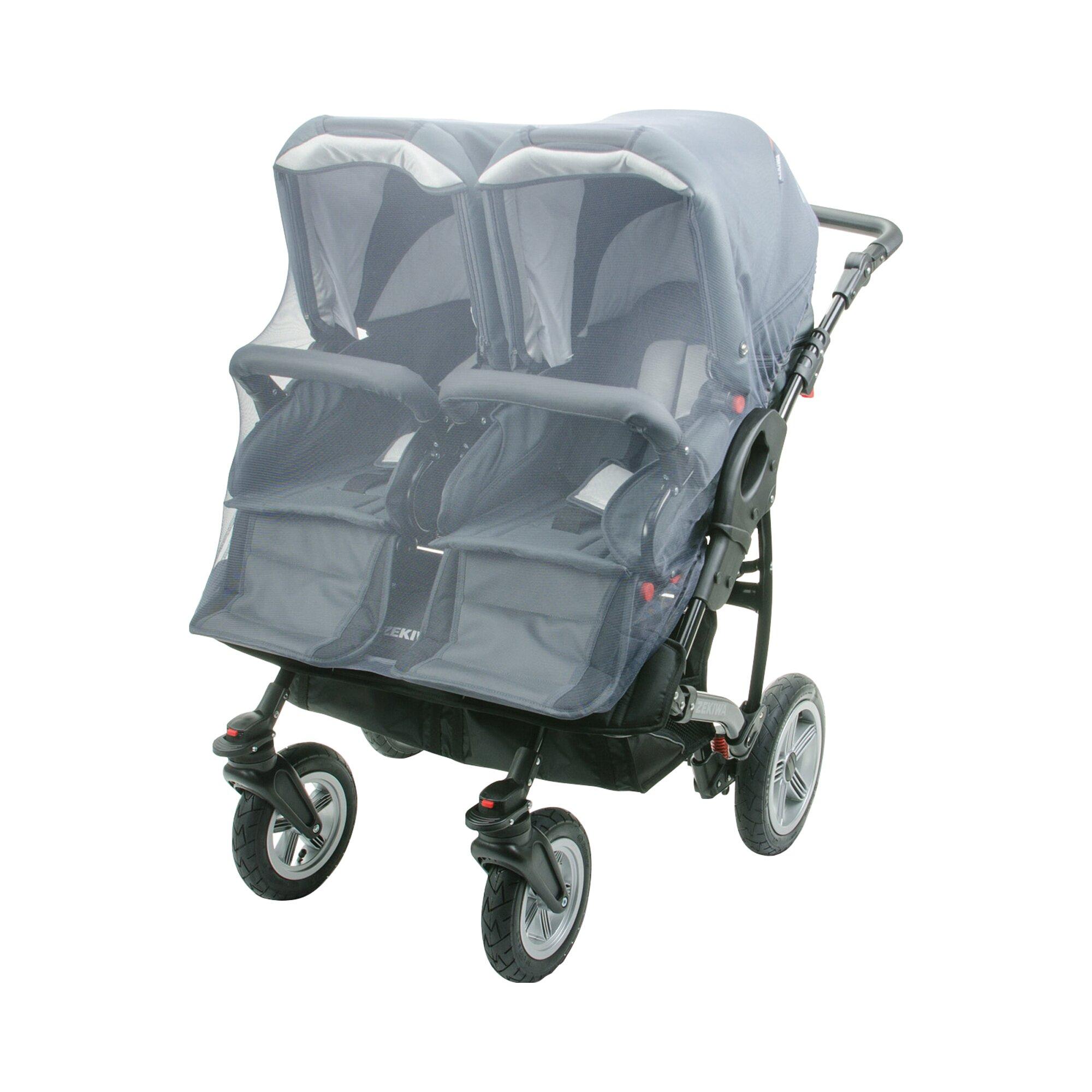 Diago Insektenschutz für Kinderwagen Zwillingswagen