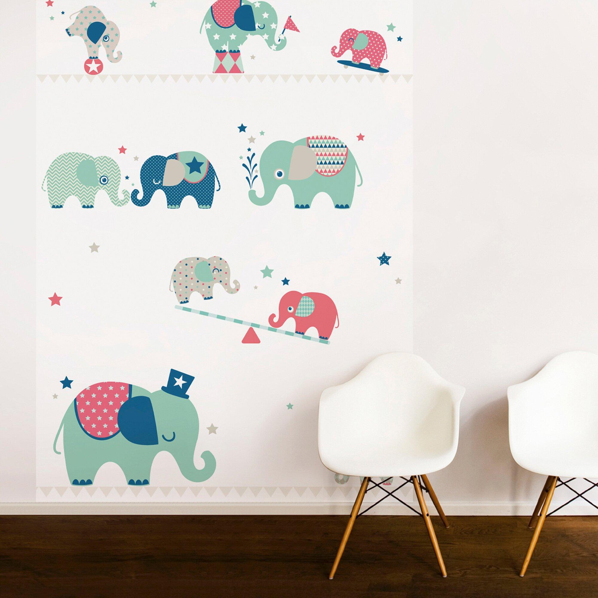 anna-wand-design-tapetenwandbild-elefanten-boys, 129.99 EUR @ babywalz-de