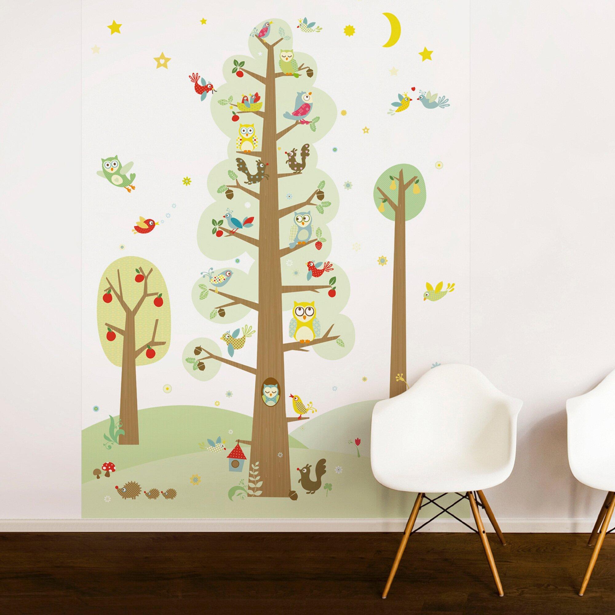 anna-wand-design-tapetenwandbild-funny-forest