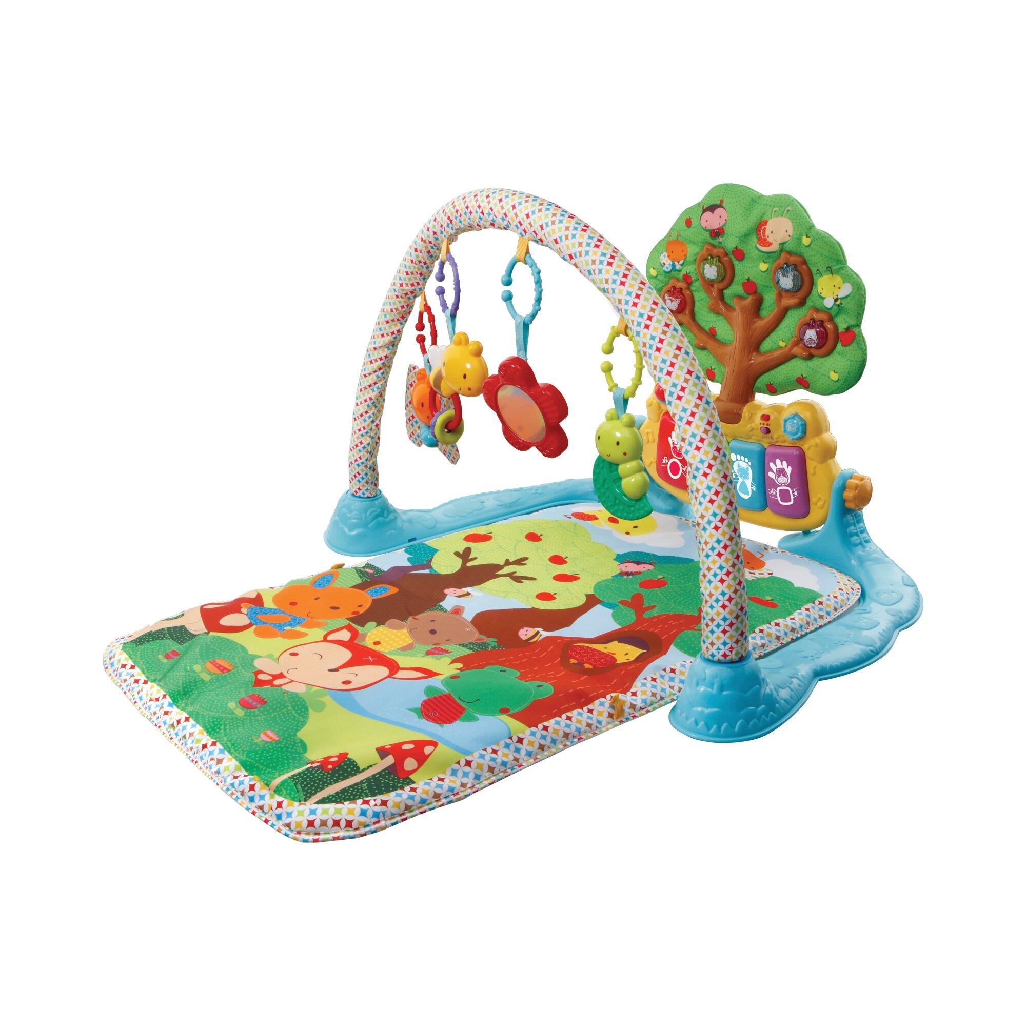 Baby Spielbogen mit Musik-Spieldecke mehrfarbig