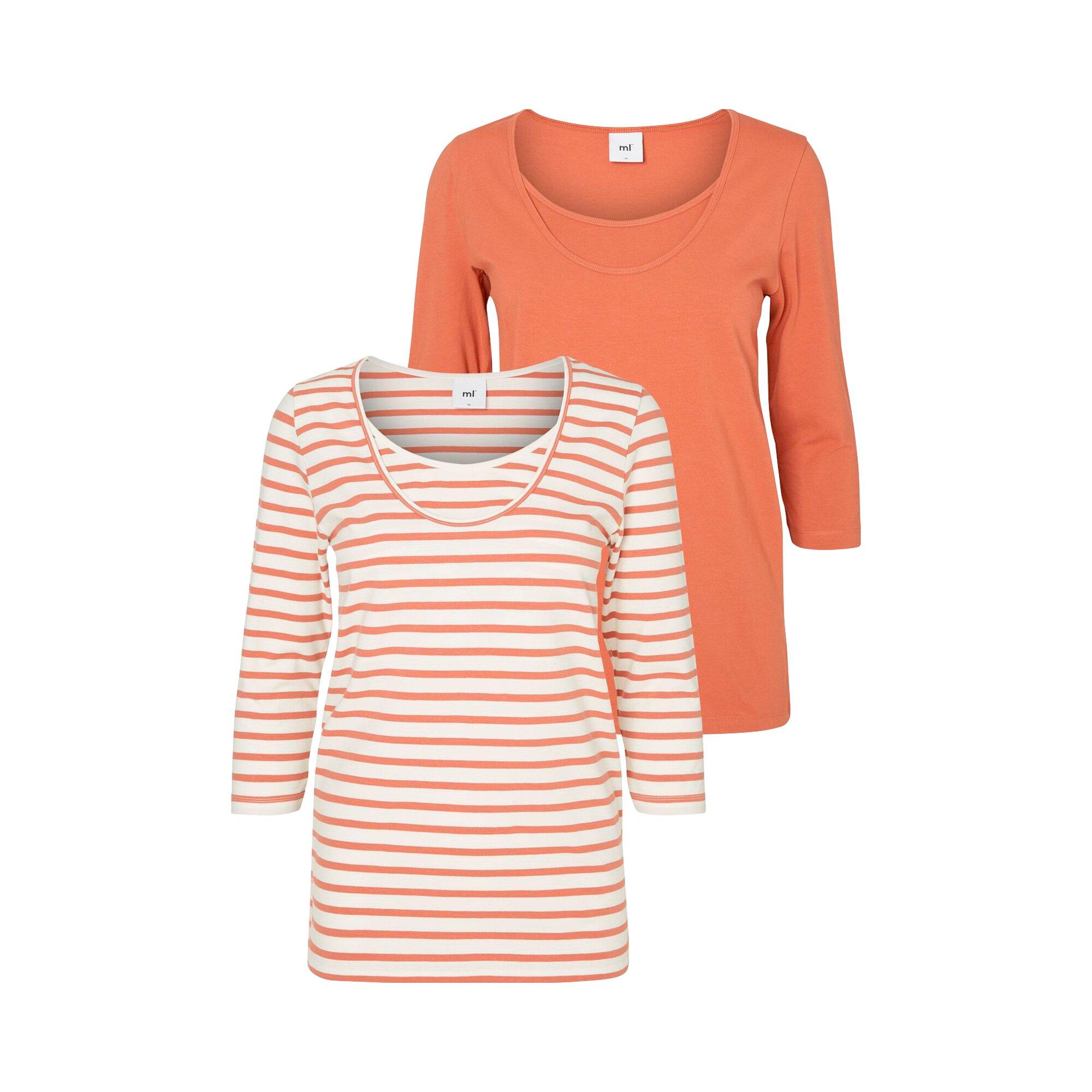 Mama Licious® Umstands- und Stillshirt 2er-Pack Lea