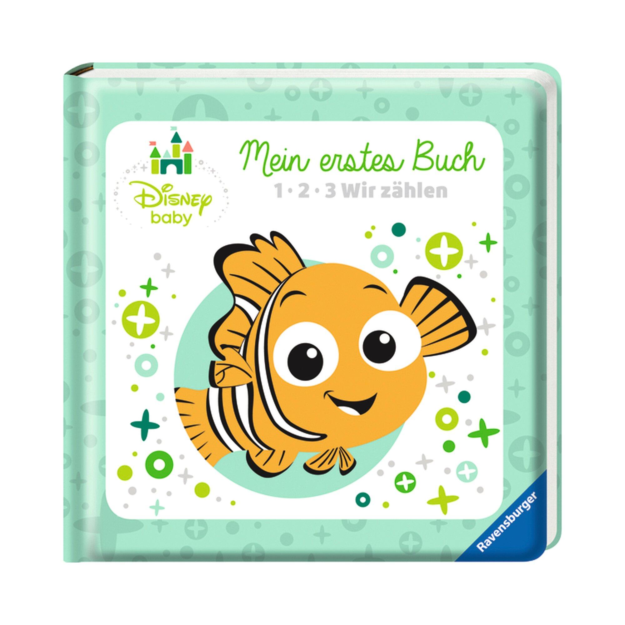 Disney Baby Pappbilderbuch Mein erstes Buch - 1, 2, 3 Wir zählen