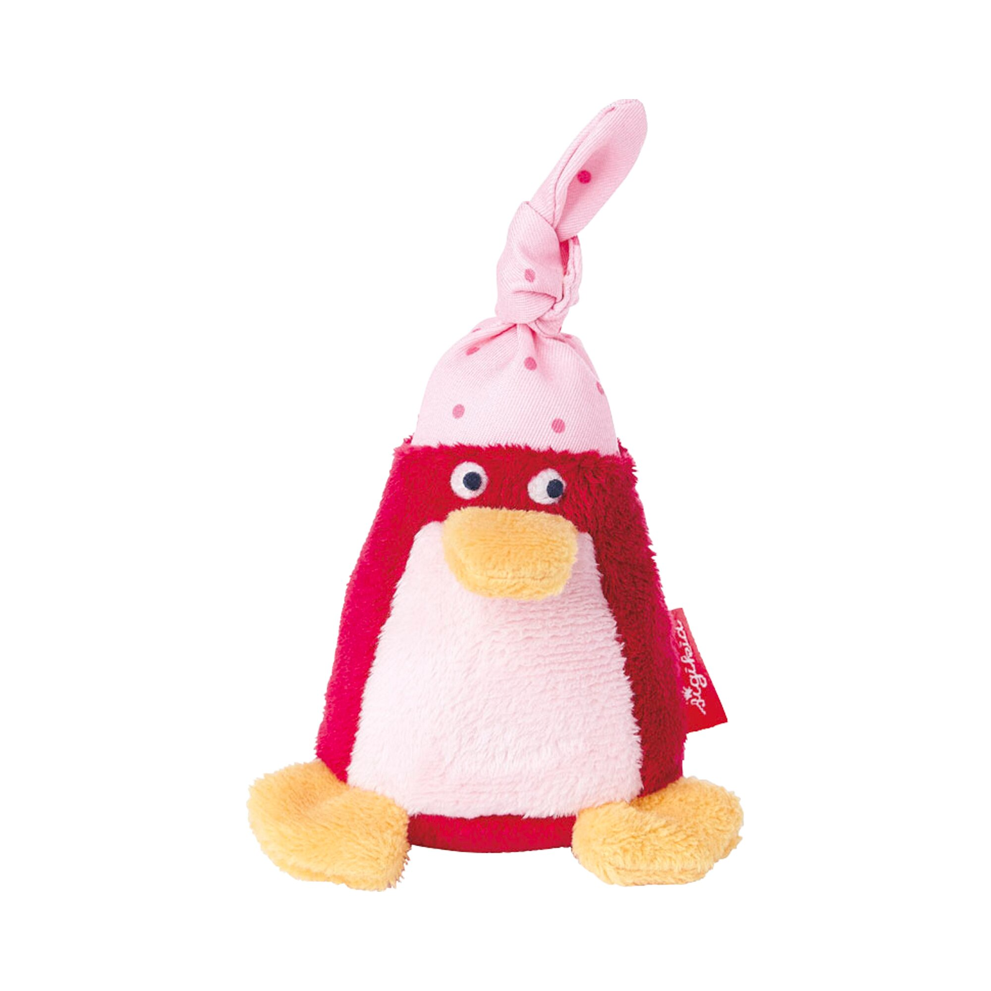 Sigikid Rassel Pinguin Red Stars Collection