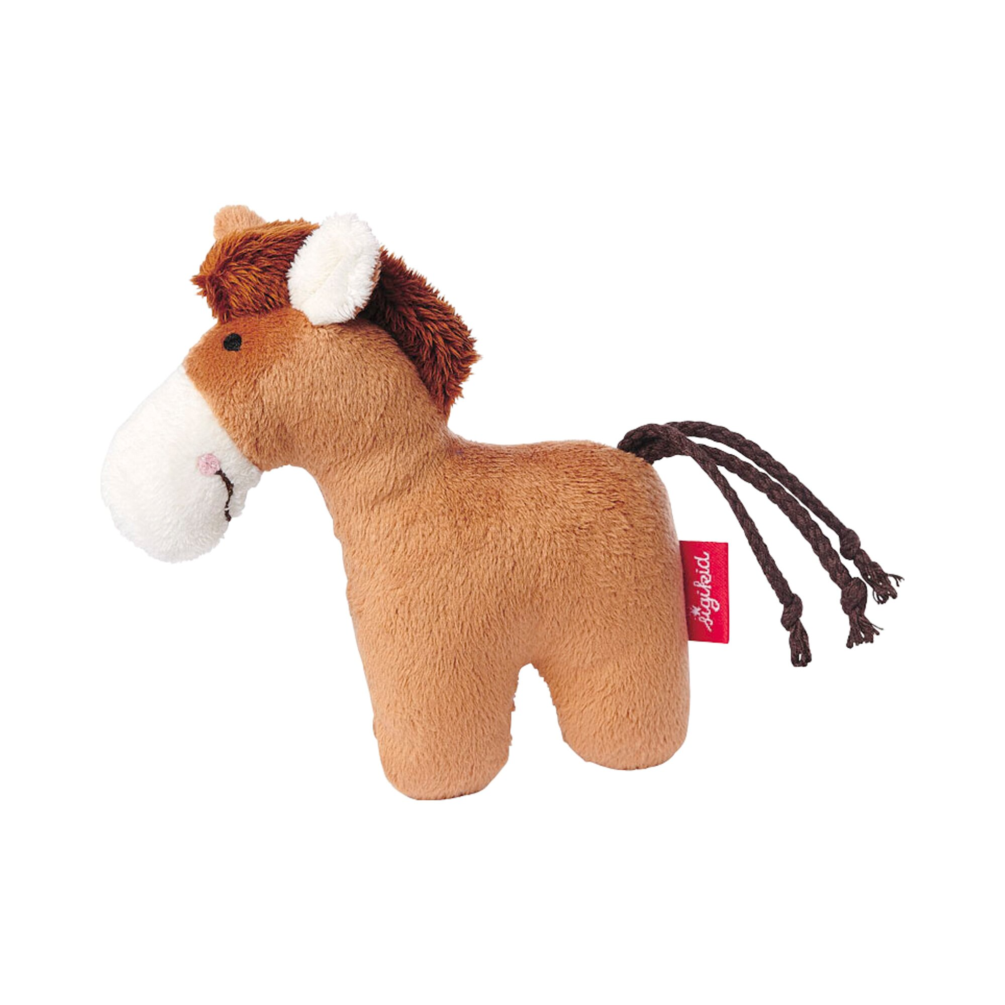 Sigikid Rassel Pferd Red Stars Collection