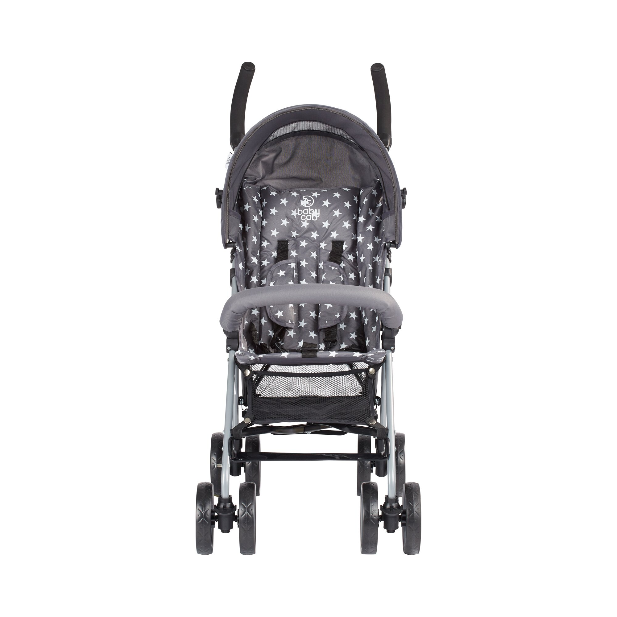babycab-max-stars-collection-sitzbuggy-grau, 39.99 EUR @ babywalz-de