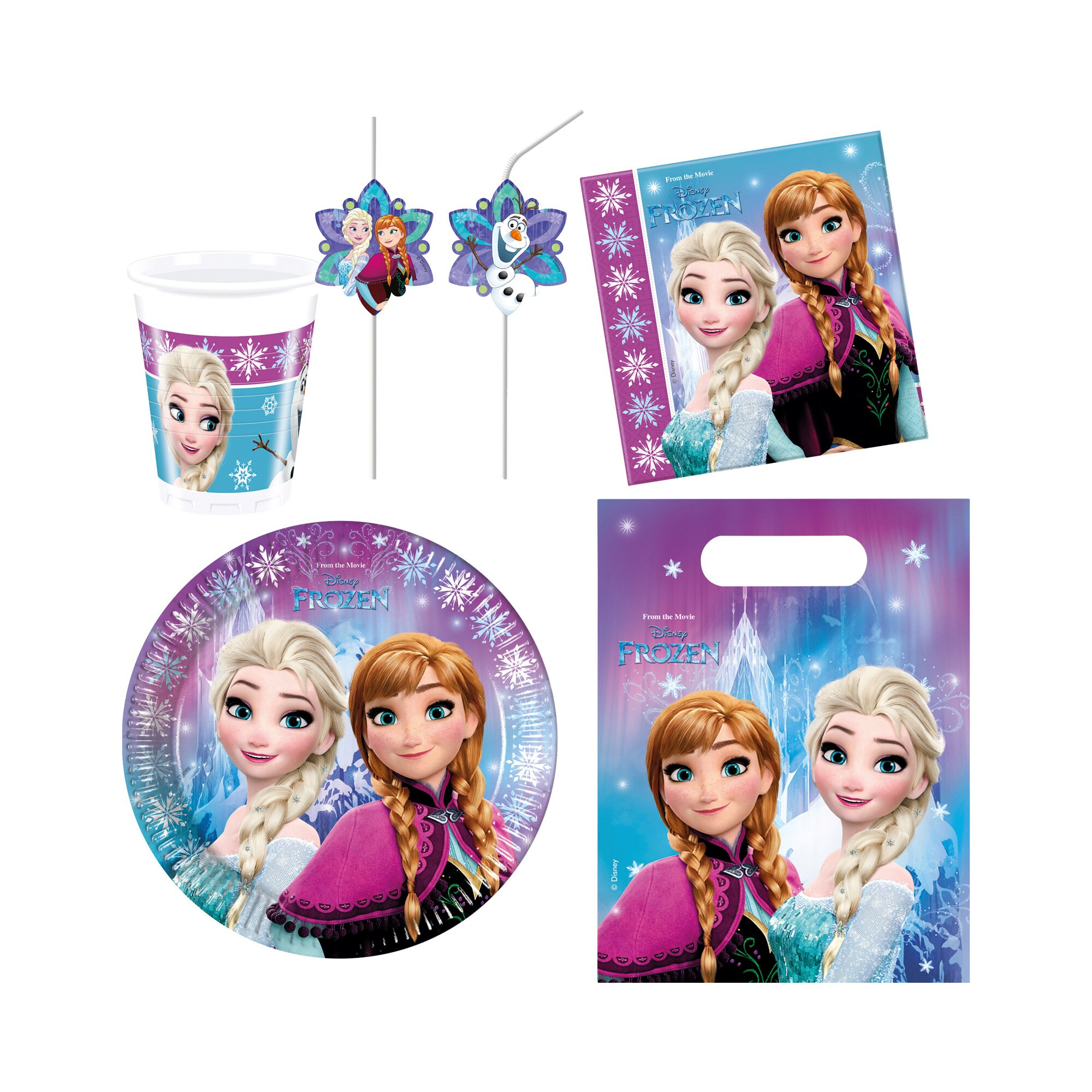Disney Frozen 48-tlg. Partykarton Frozen
