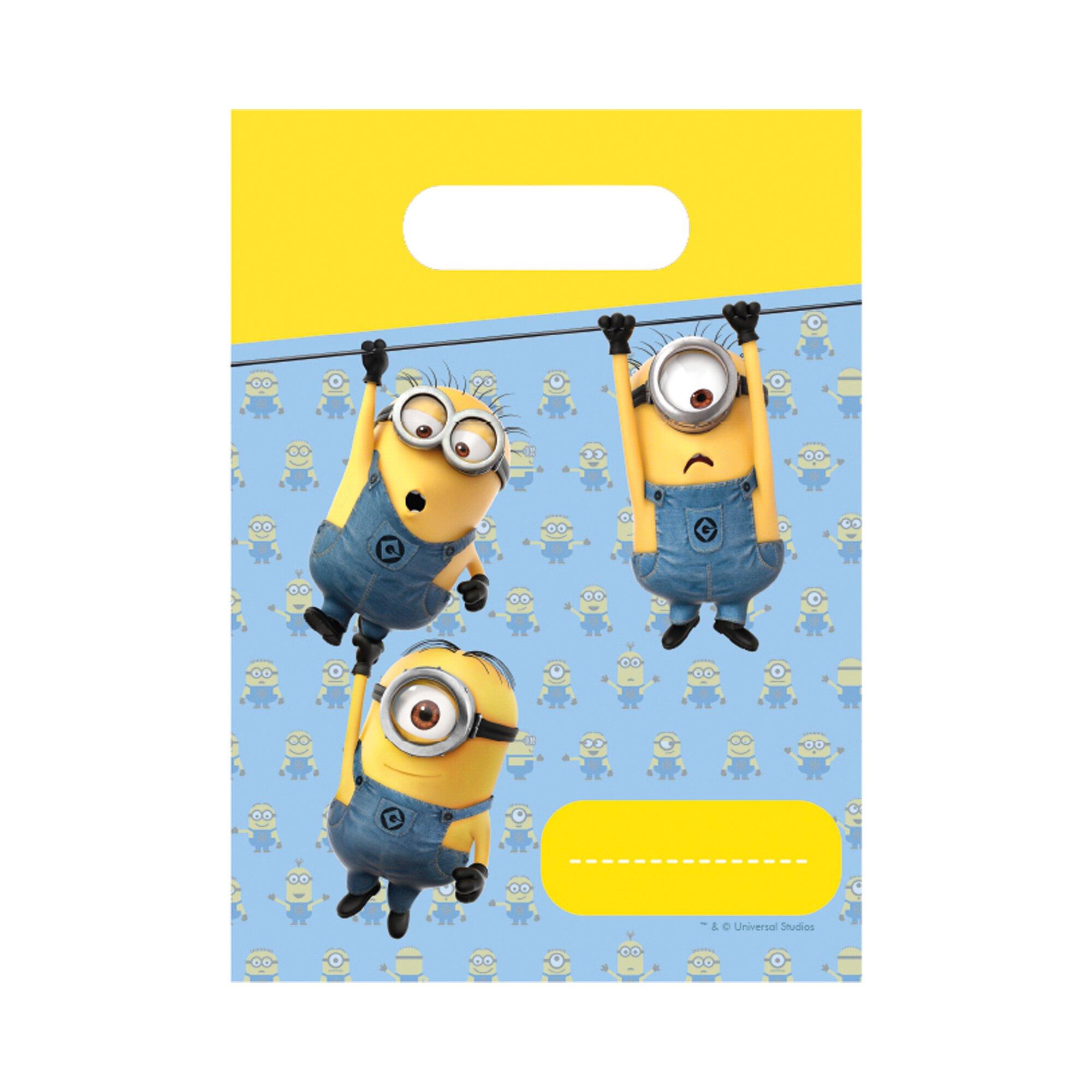 Minions Geschenktüten 6 Stück