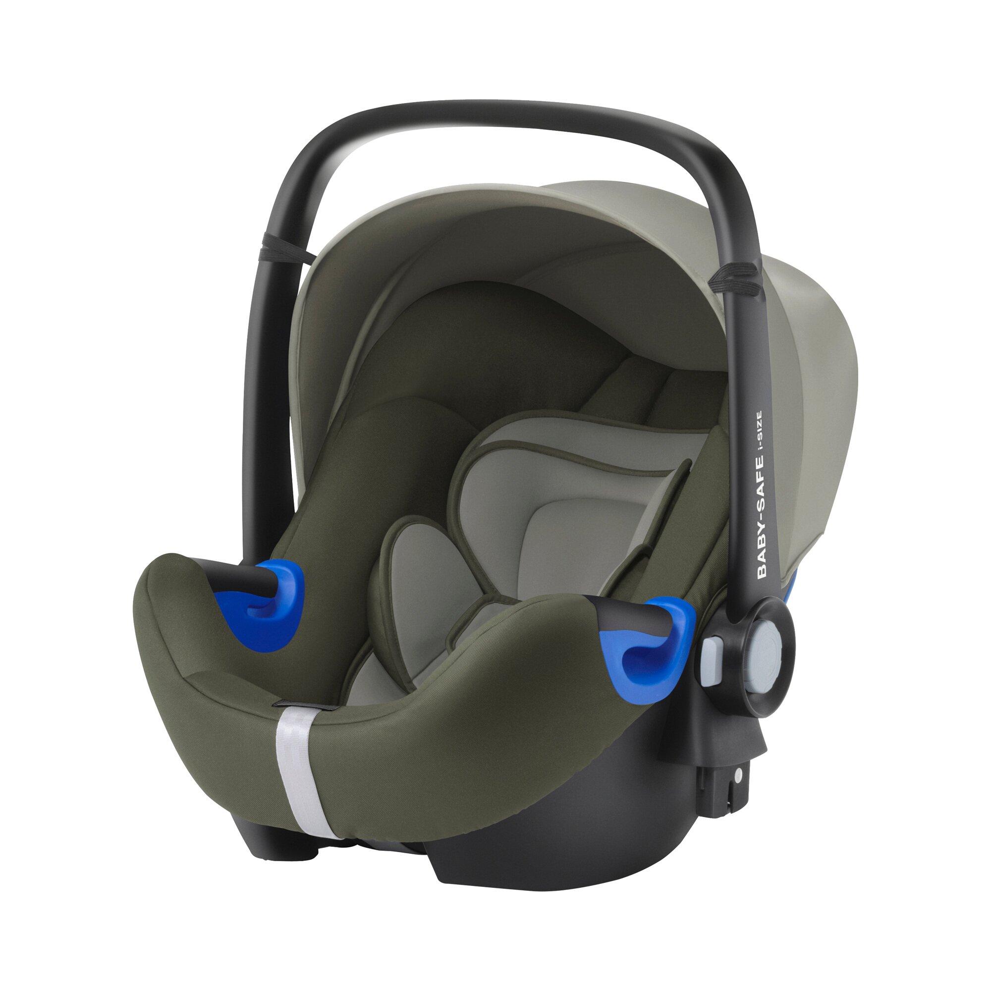 Baby Safe I-Size Babyschale 40cm - 83cm, max. 13kg mit Liegefunktion Design 2017 khaki