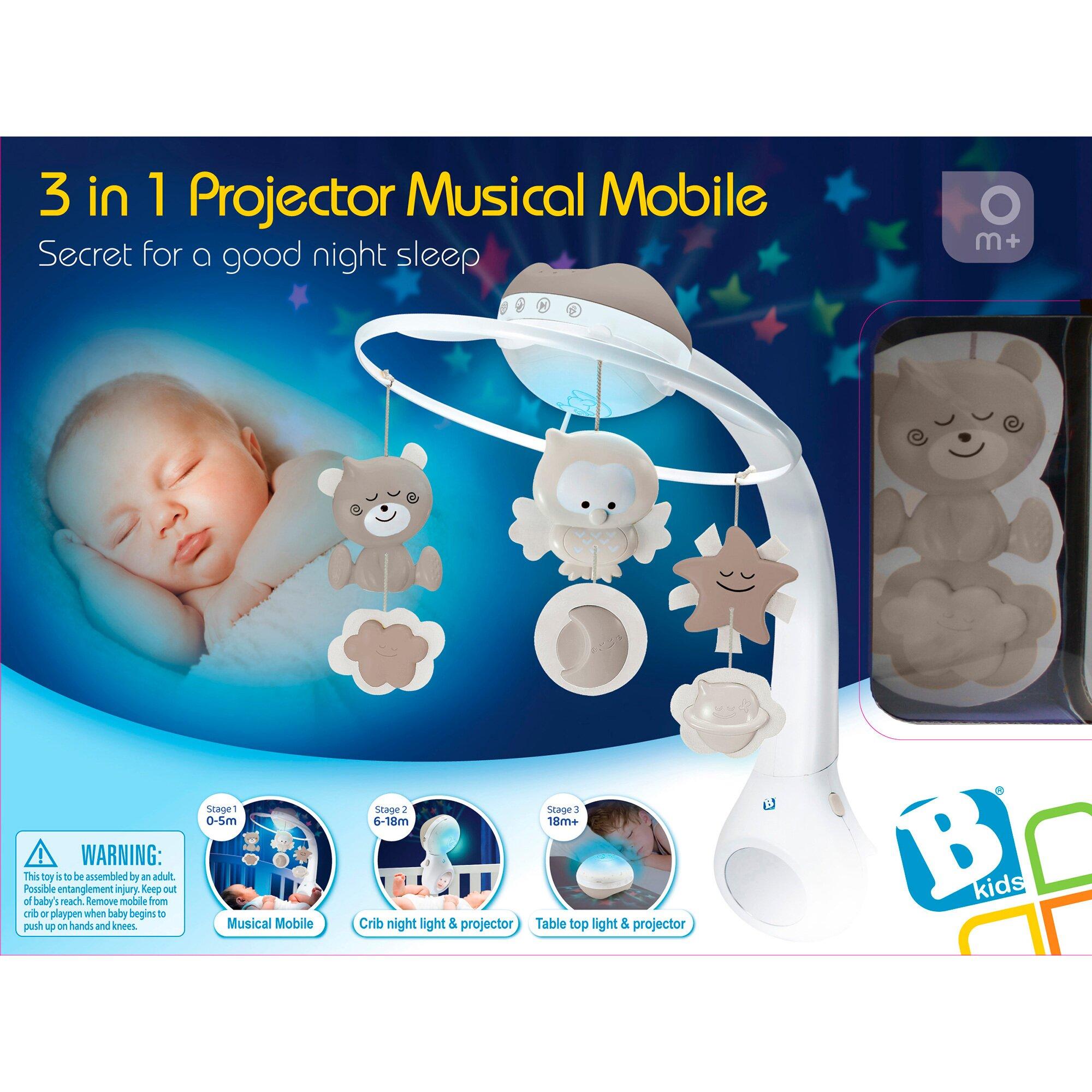 b-kids-musik-mobile-mit-deckenprojektor, 49.99 EUR @ babywalz-de