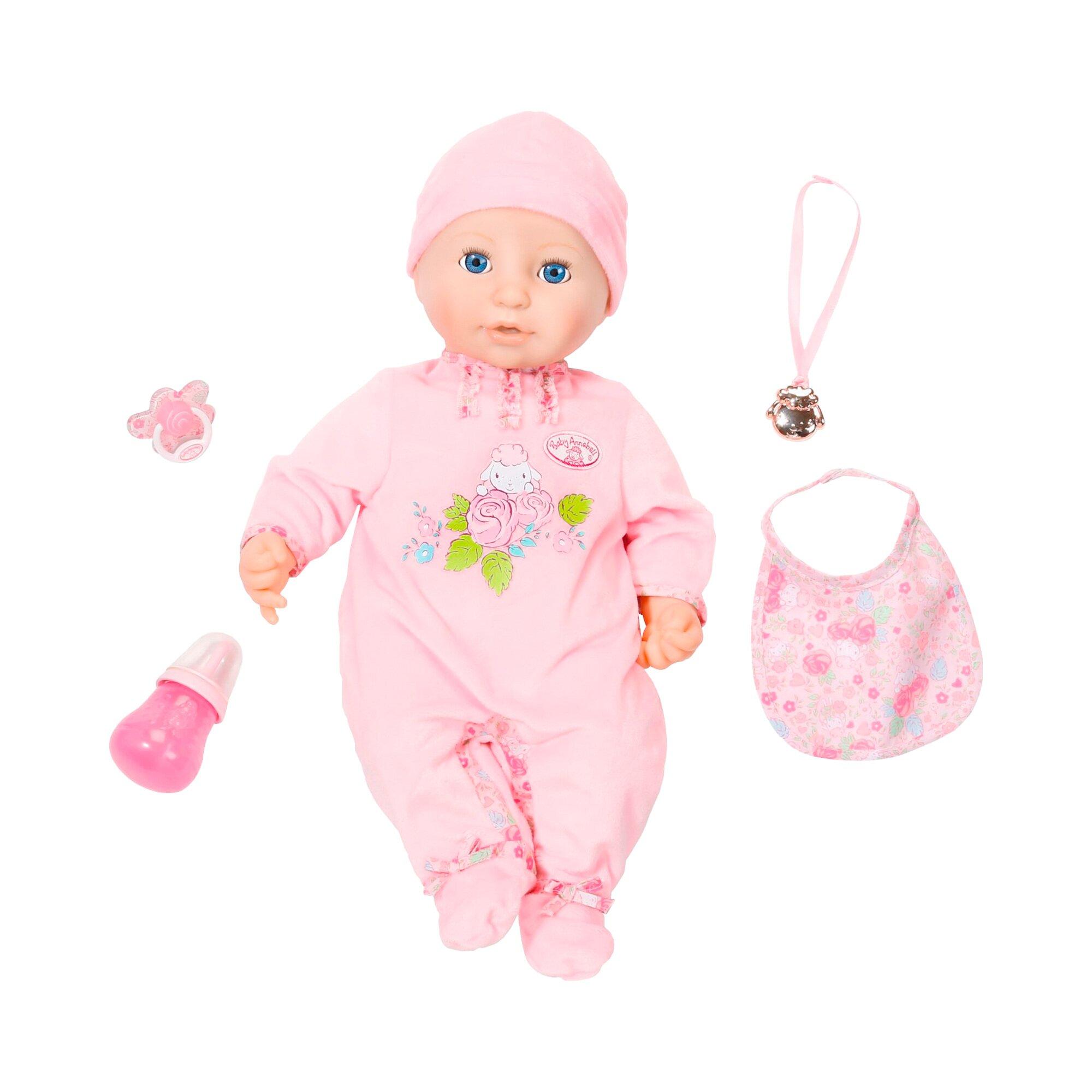 Baby Annabell Puppe Annabell mit Funktionen 43 cm