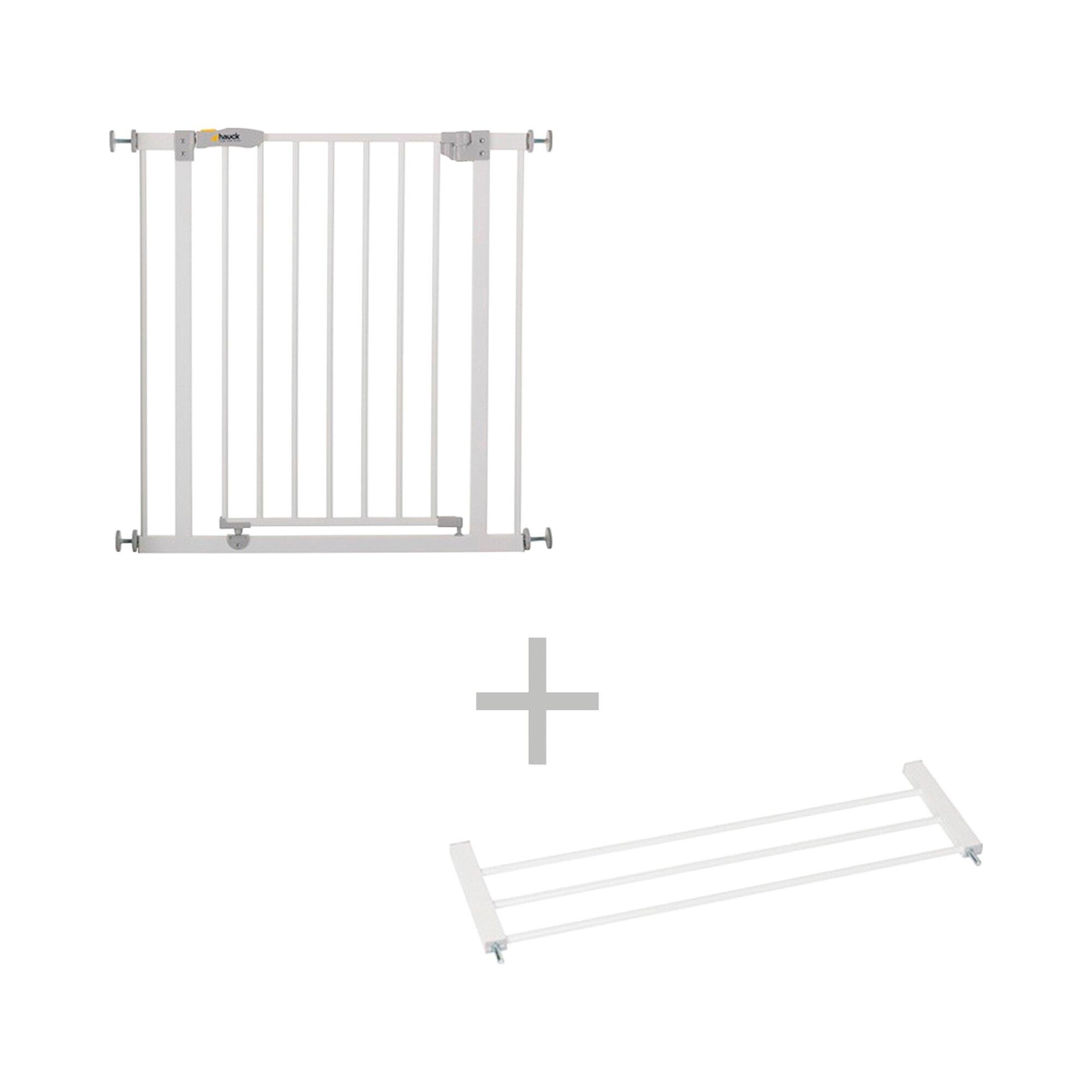 Türschutzgitter + Verlängerung 21 cm Open' n Stop Safety Gate