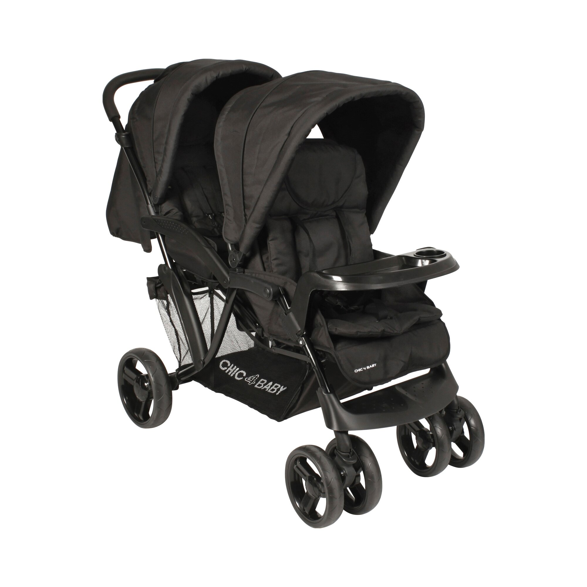 chic-4-baby-doppio-kinderwagen-geschwisterwagen-schwarz