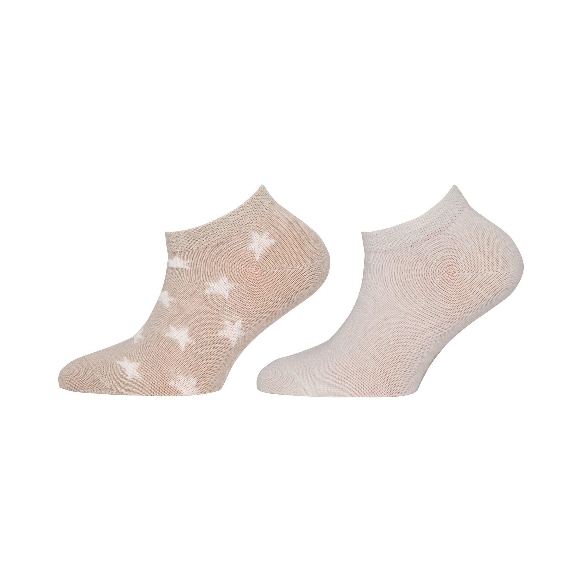 Ewers 2er-Pack Sneaker-Socken Sterne