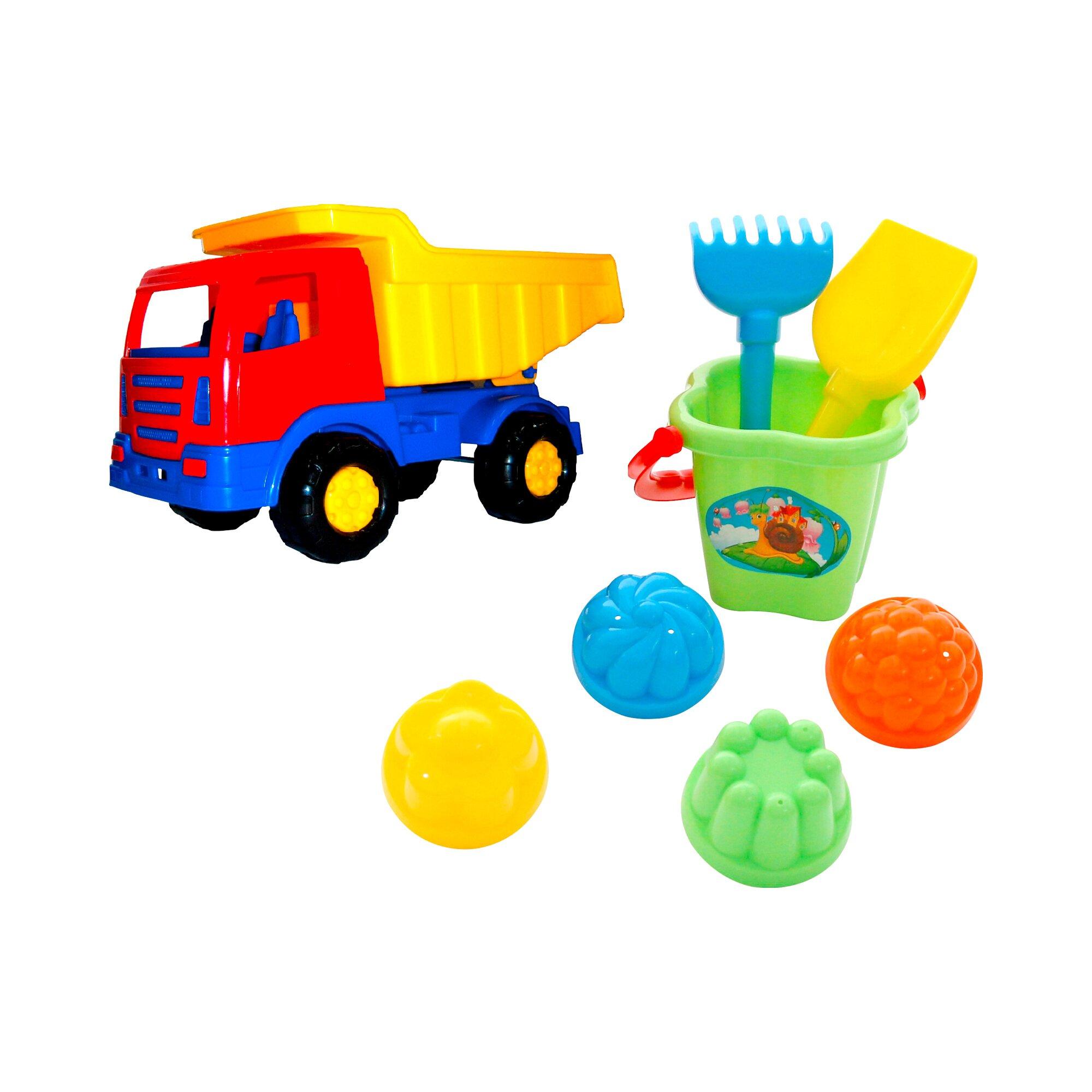 solini-sandspielzeug-mit-kipper-8-teilig, 7.99 EUR @ babywalz-de