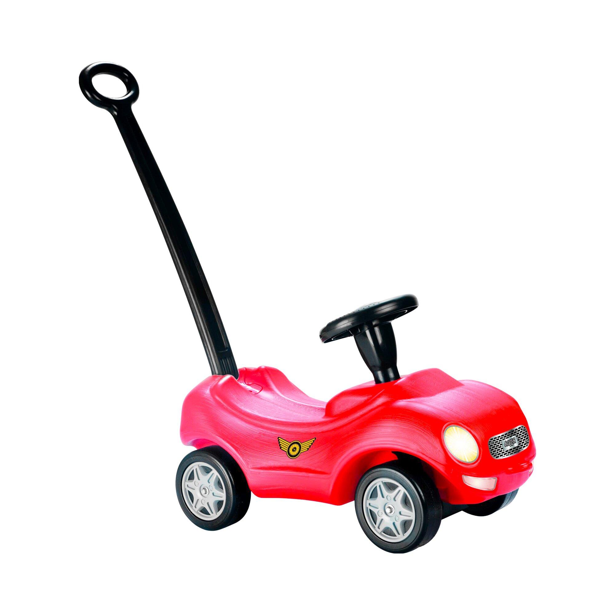 Dolu Rutscher Baby Racer mit Schubstange