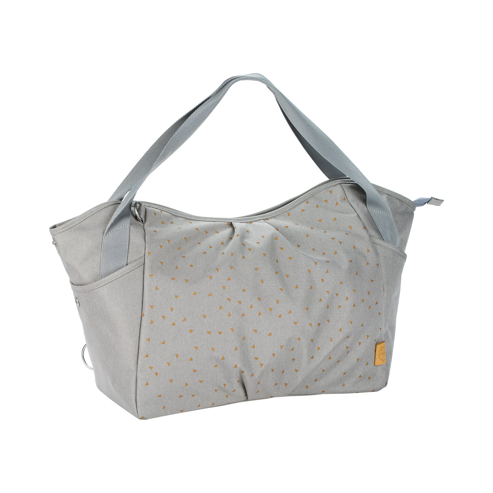 Casual Wickeltasche Twin Bag grau
